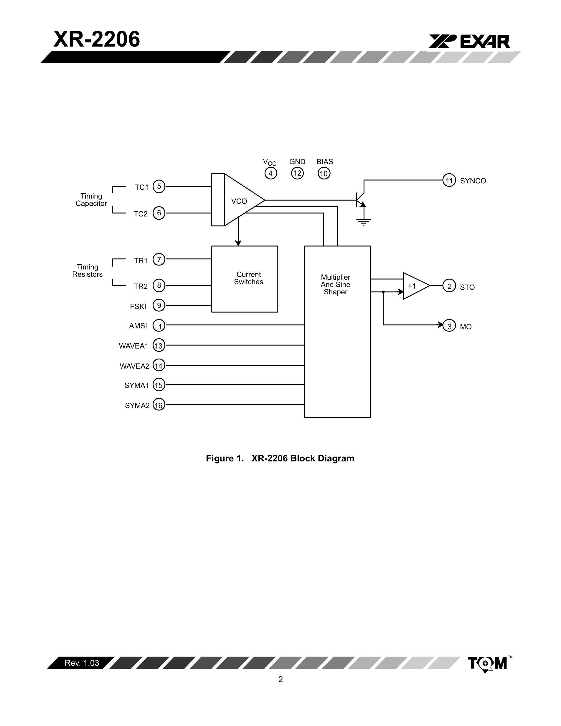 XR2206D-F's pdf picture 2