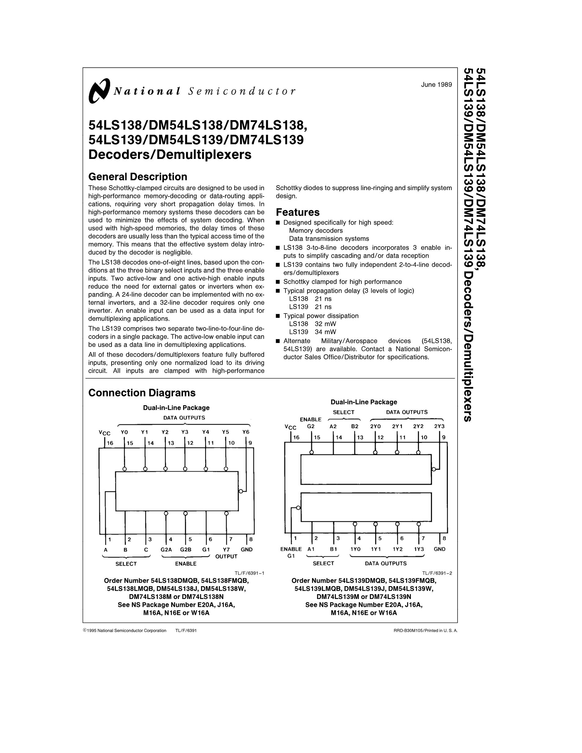 54LS161AJ's pdf picture 1