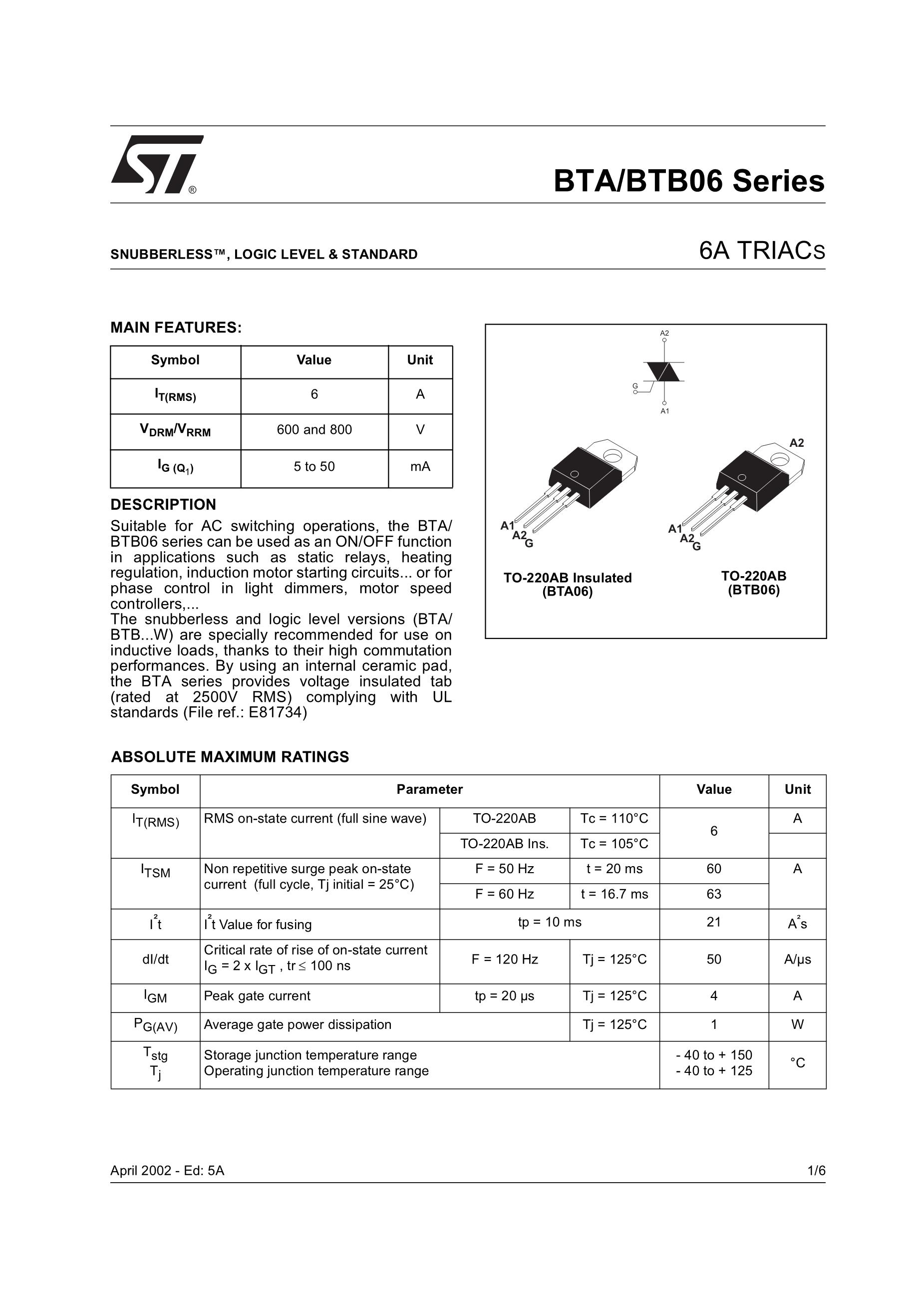 BTB06-600C/800C's pdf picture 1
