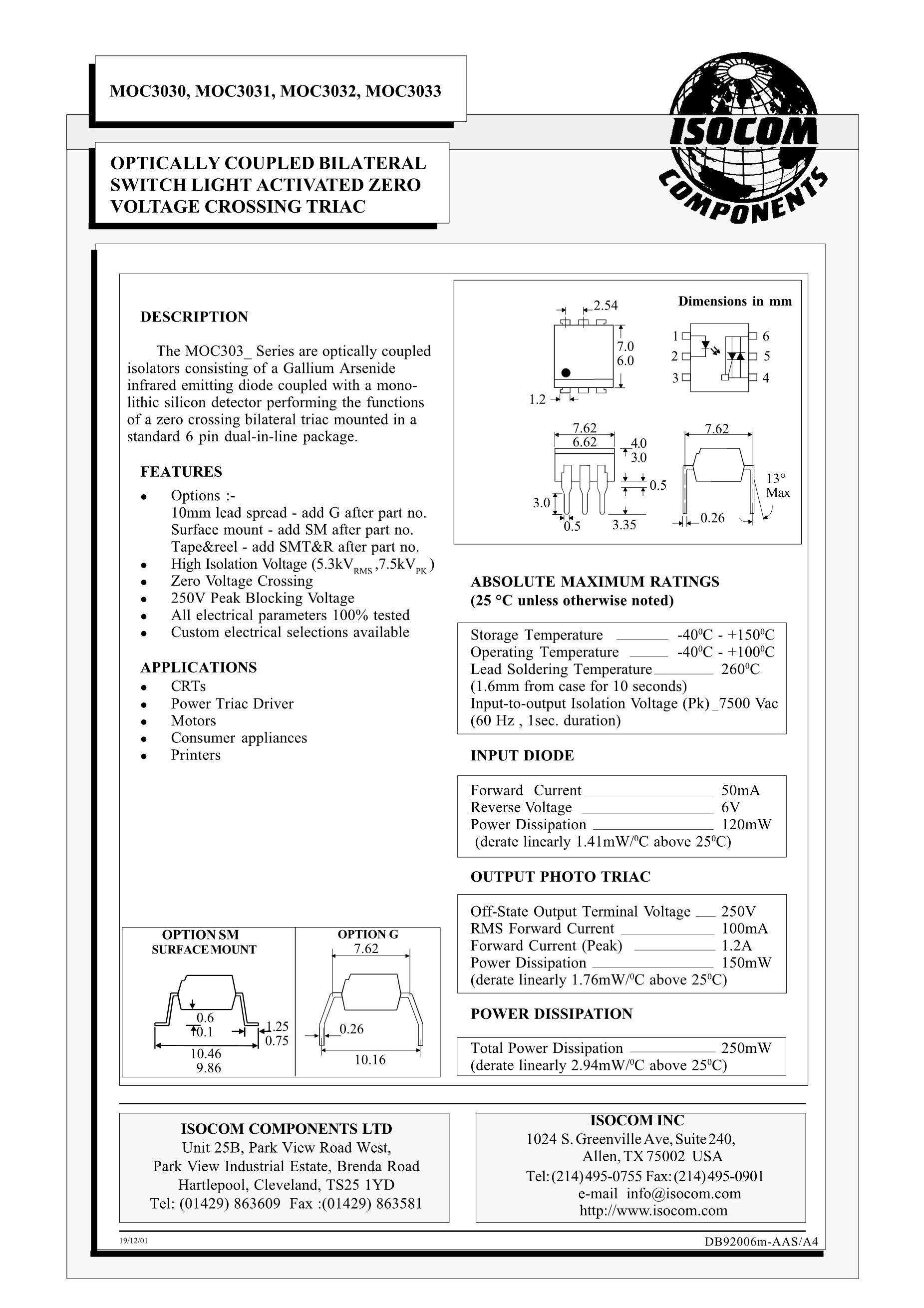 MOC3031's pdf picture 1