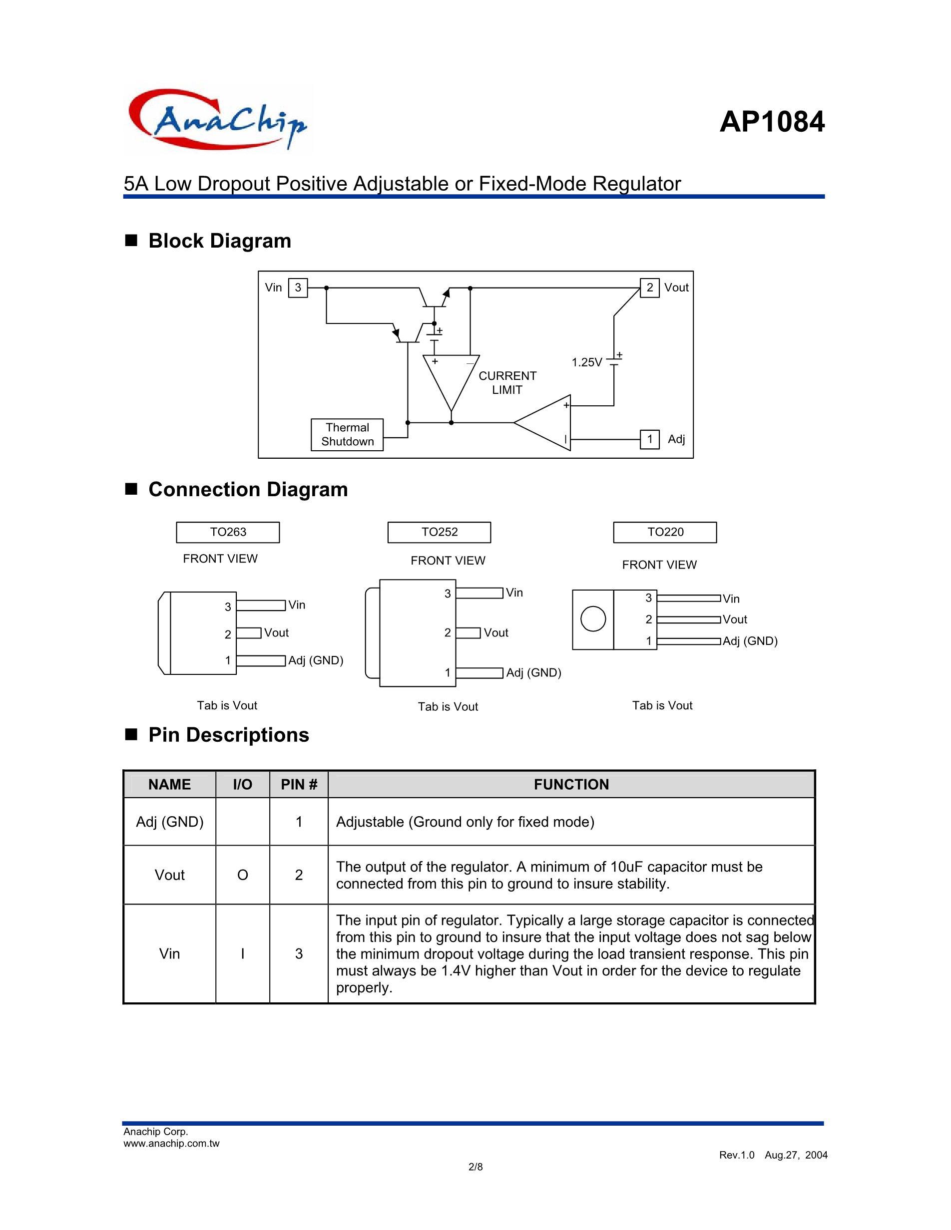 AP1084K18L-13's pdf picture 2