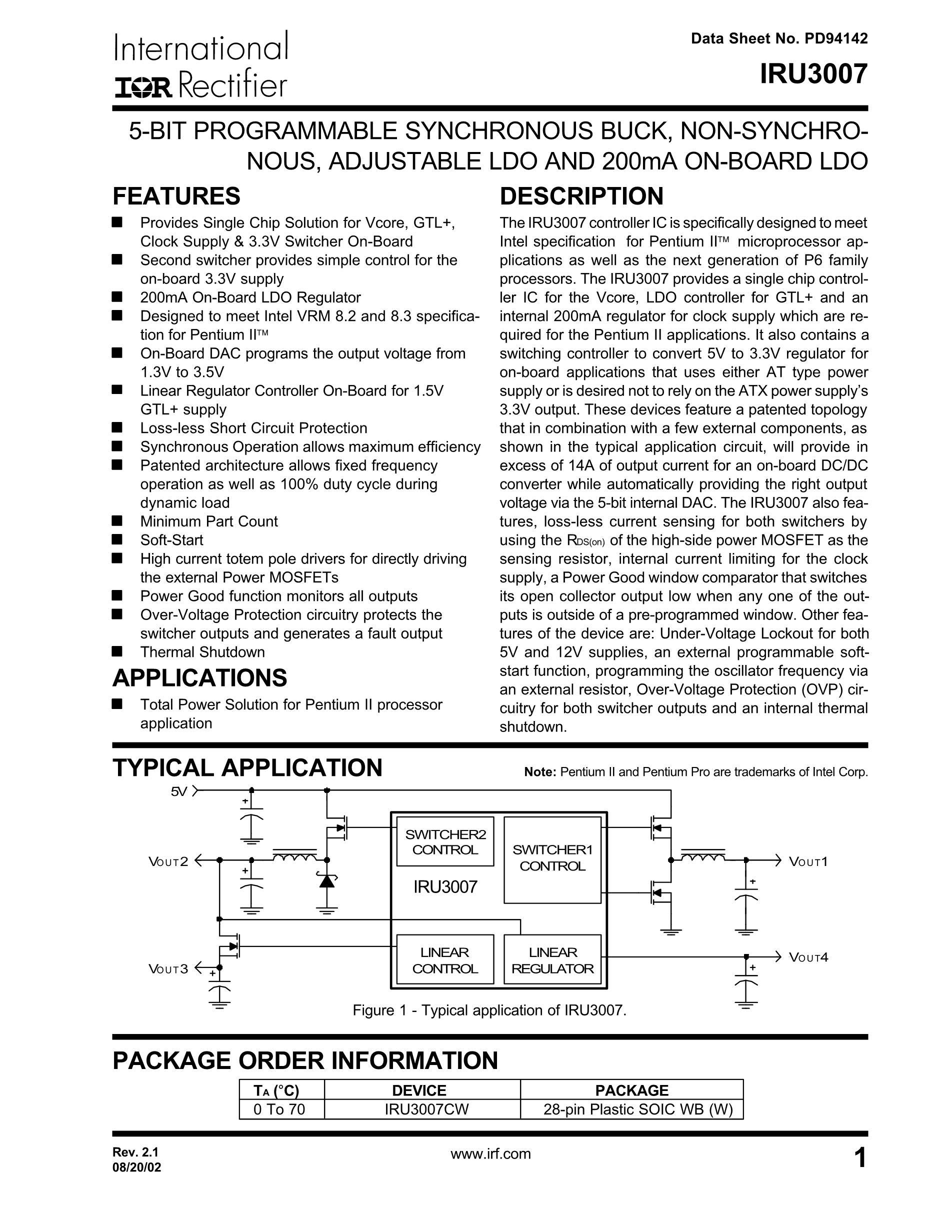 IRLR3103TRPBF's pdf picture 1