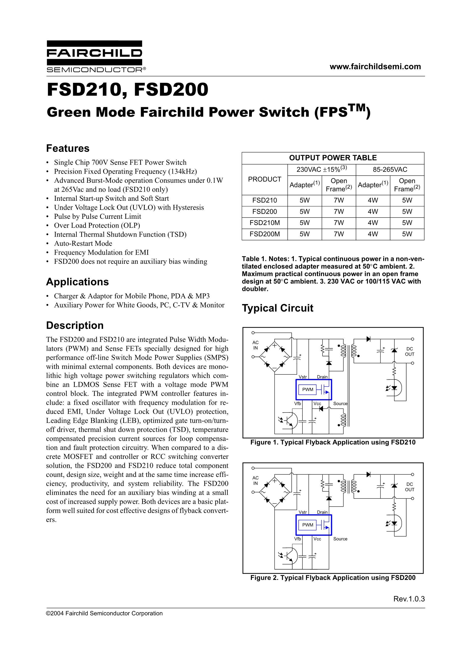FSD20A90's pdf picture 1