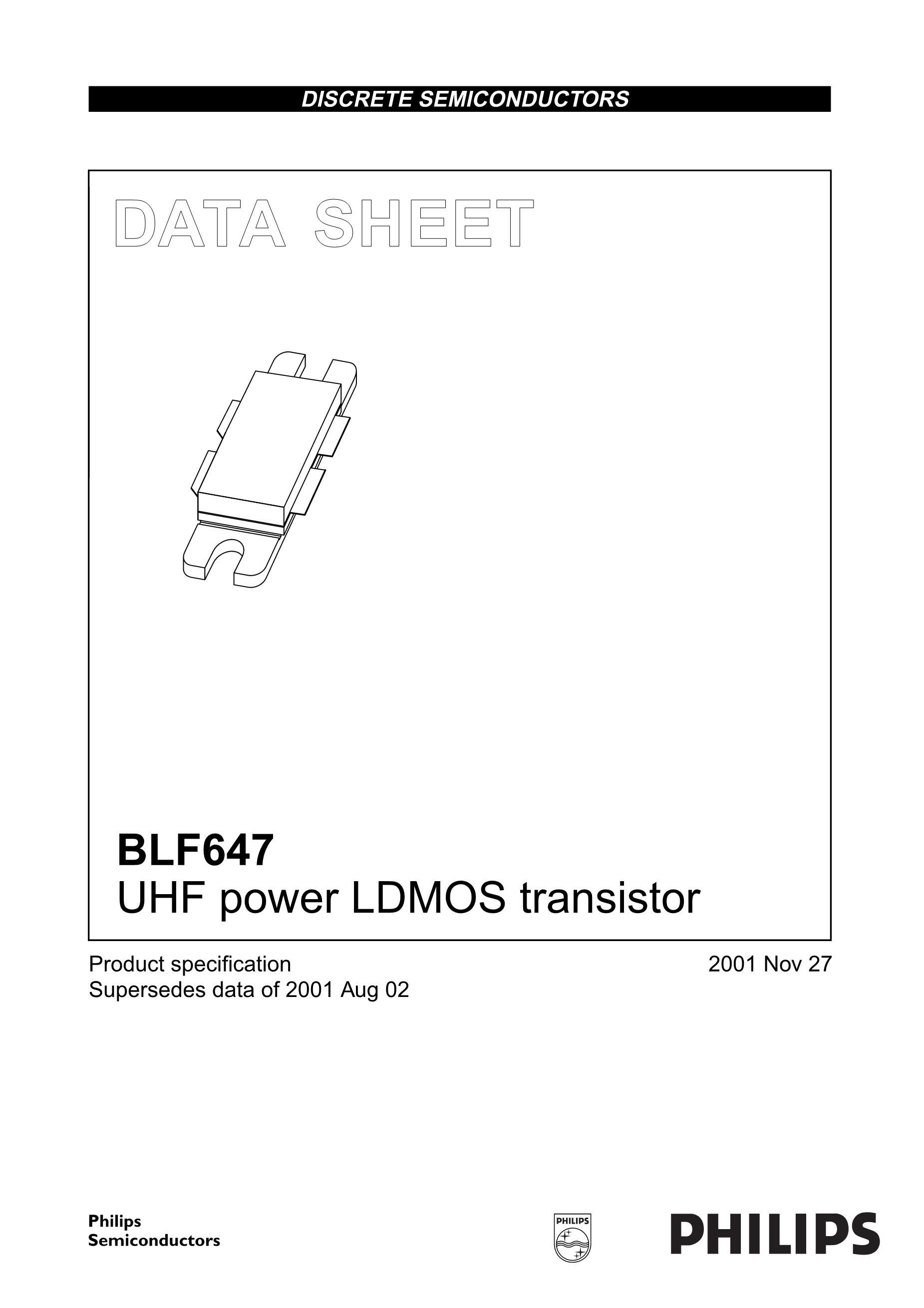 BLF6G27LS-135's pdf picture 1