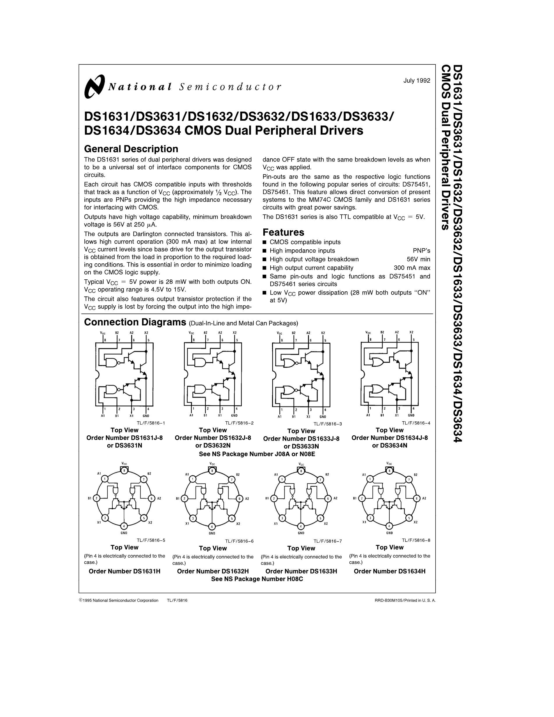DS36C278TMX's pdf picture 1