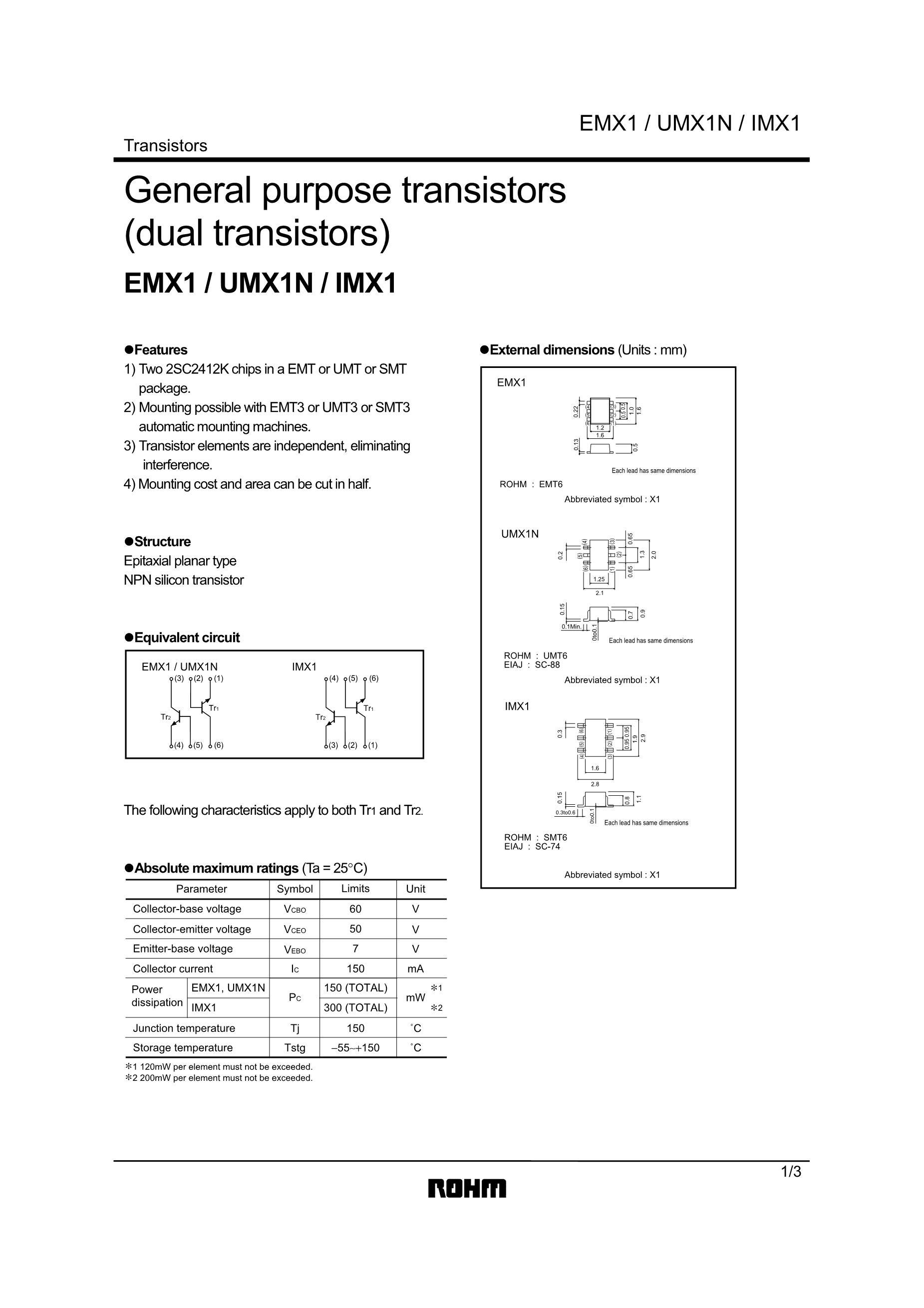 IMX103LAR-C's pdf picture 1