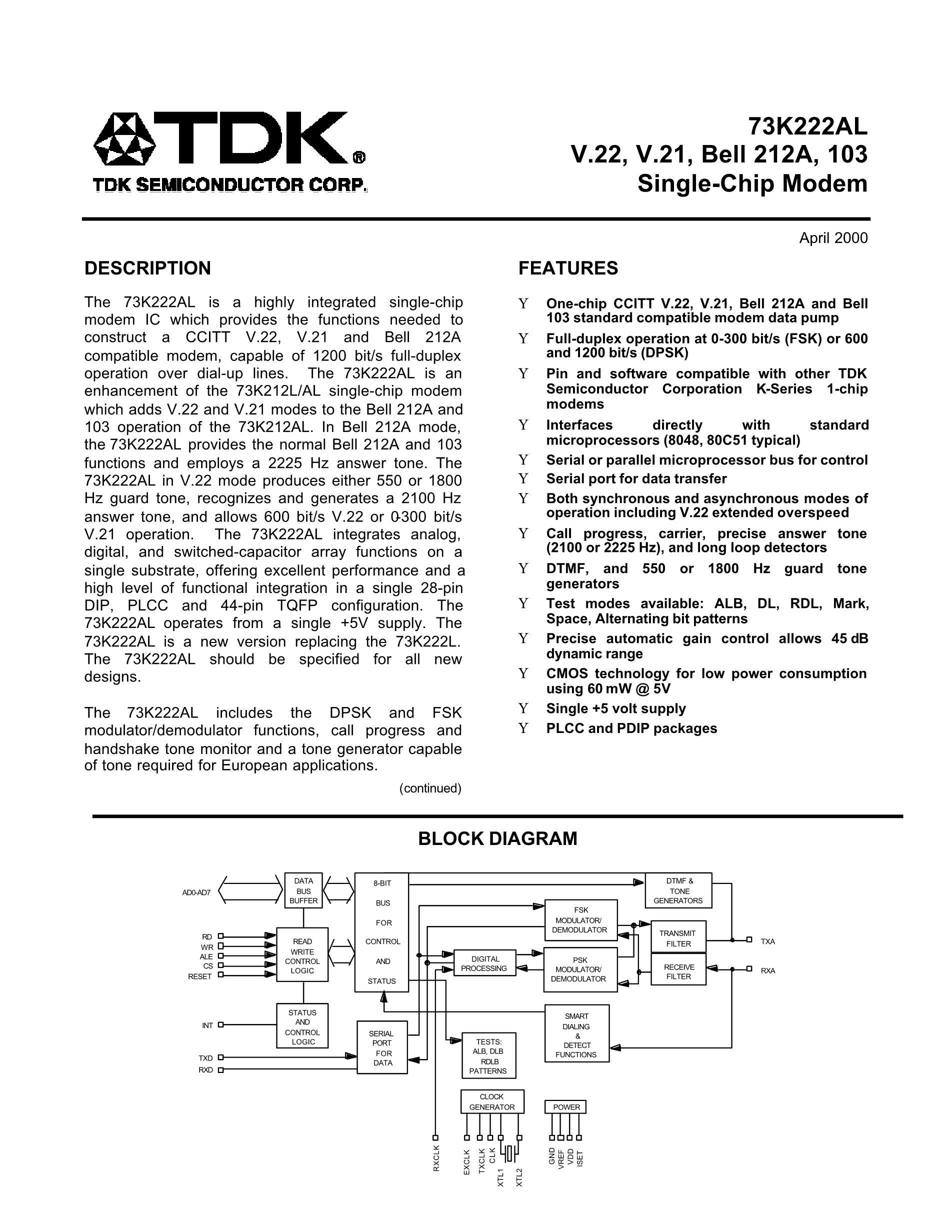 73K222SL-IP's pdf picture 1
