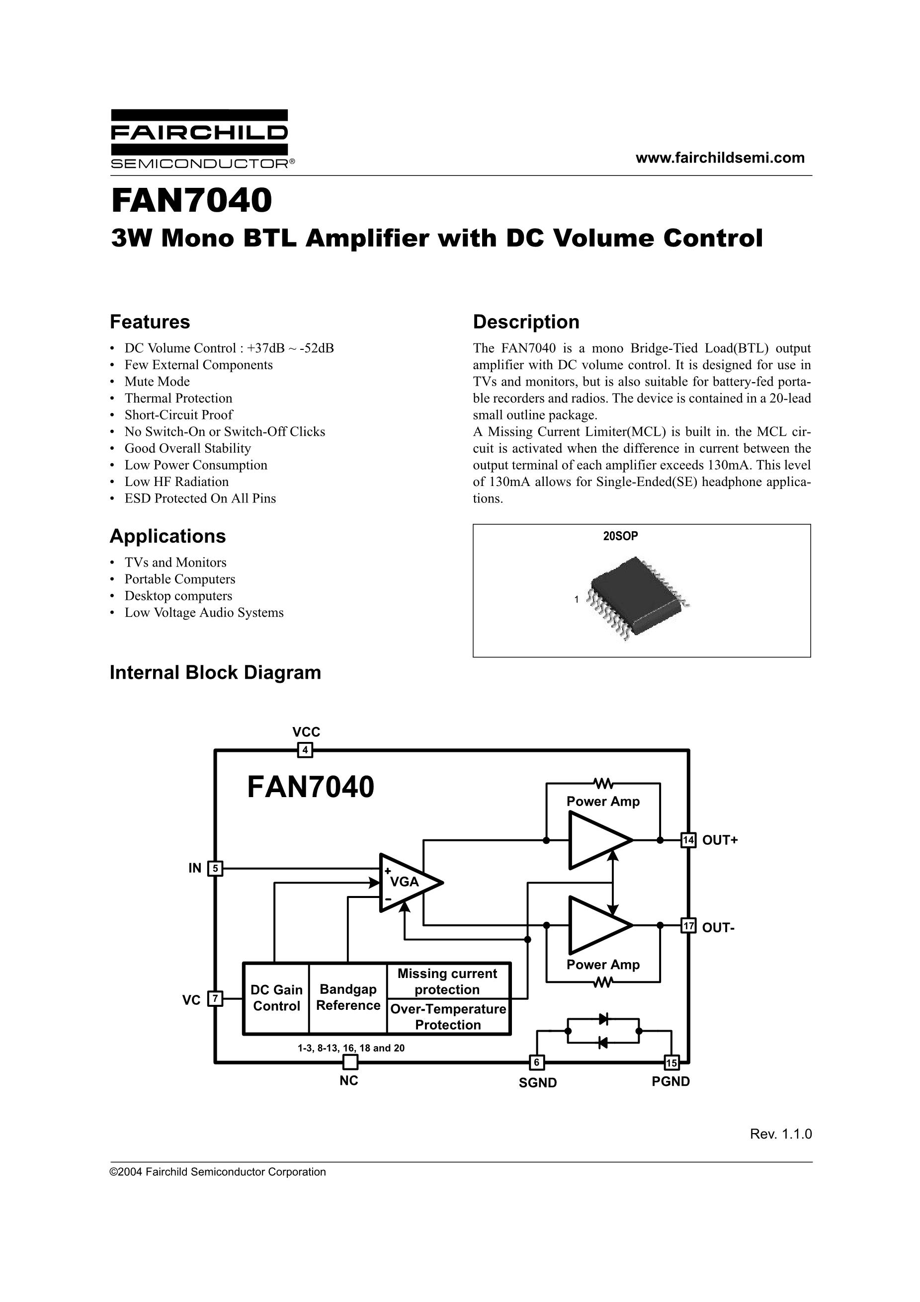 FAN7710VLN's pdf picture 1
