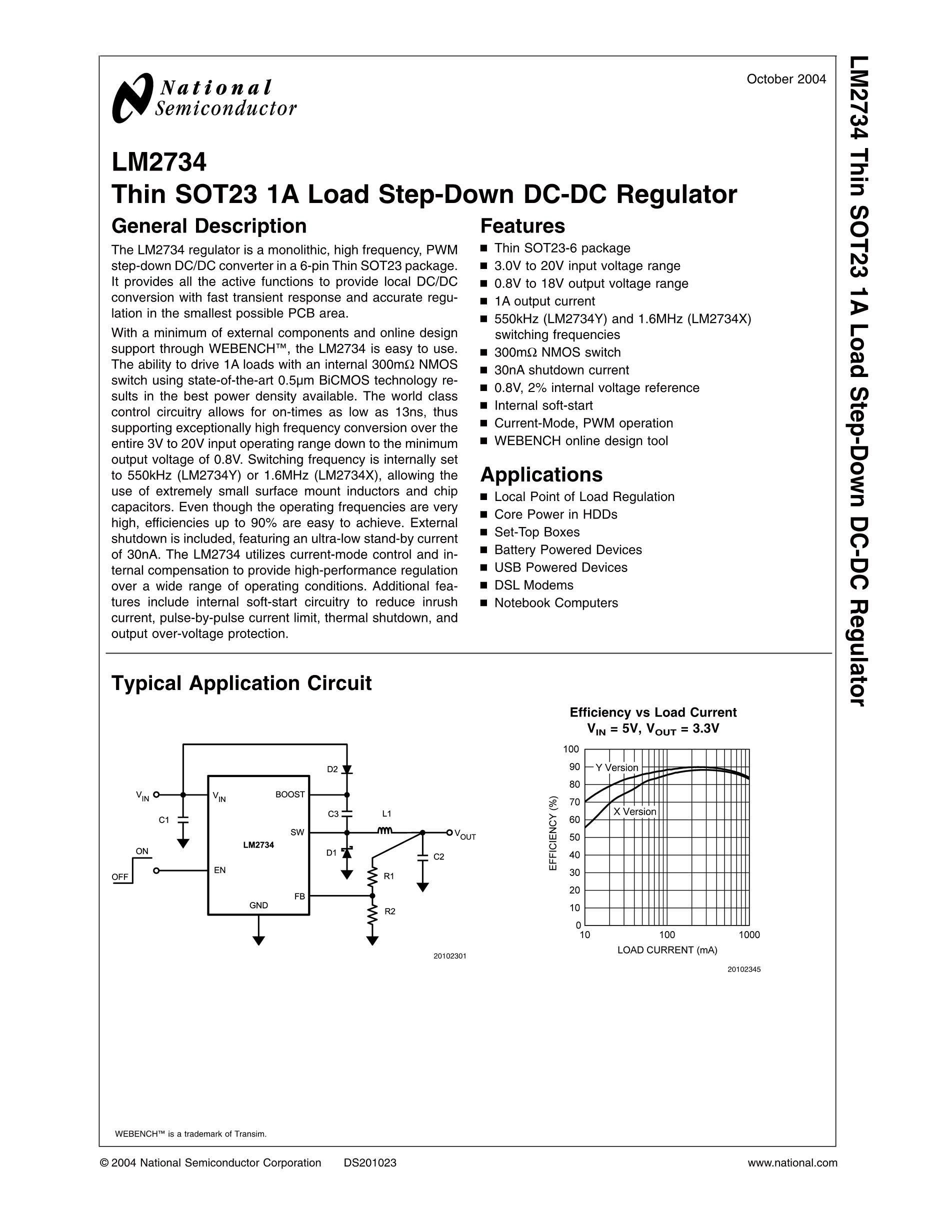 LM2766M6/NOPB's pdf picture 1