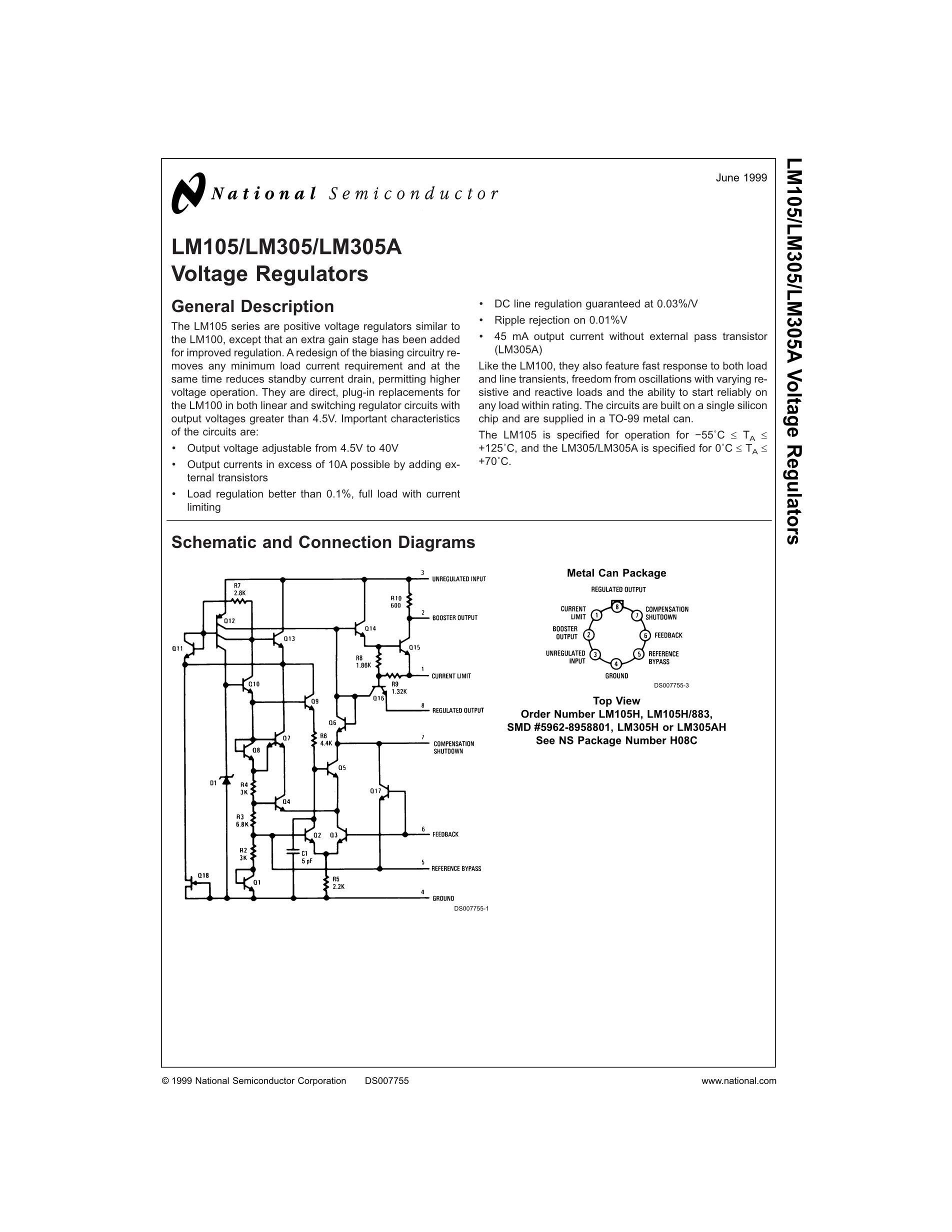 LM301AP's pdf picture 1