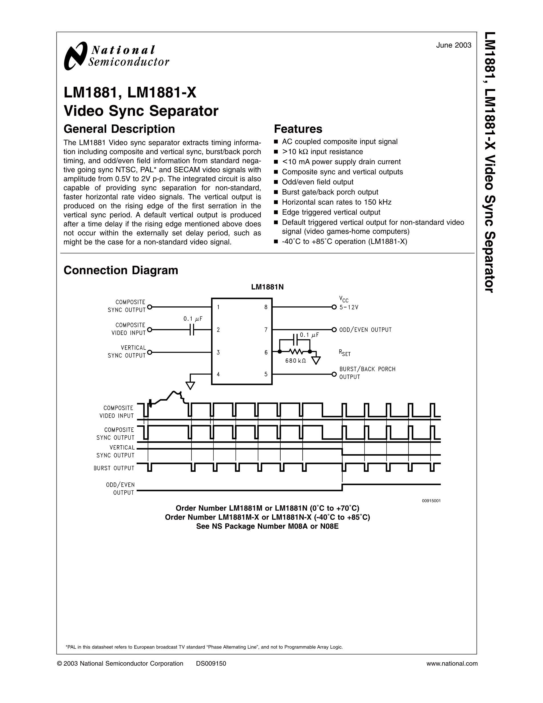 LM1894M/NOPB's pdf picture 1