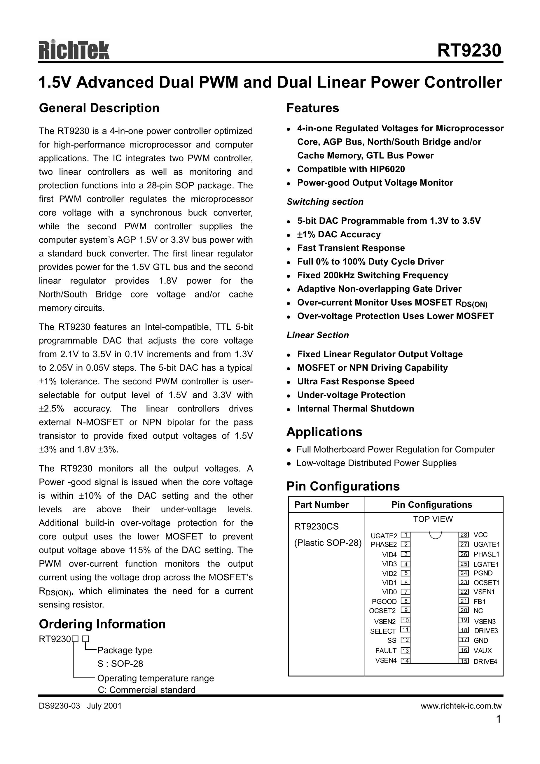 RT9276GQ's pdf picture 1