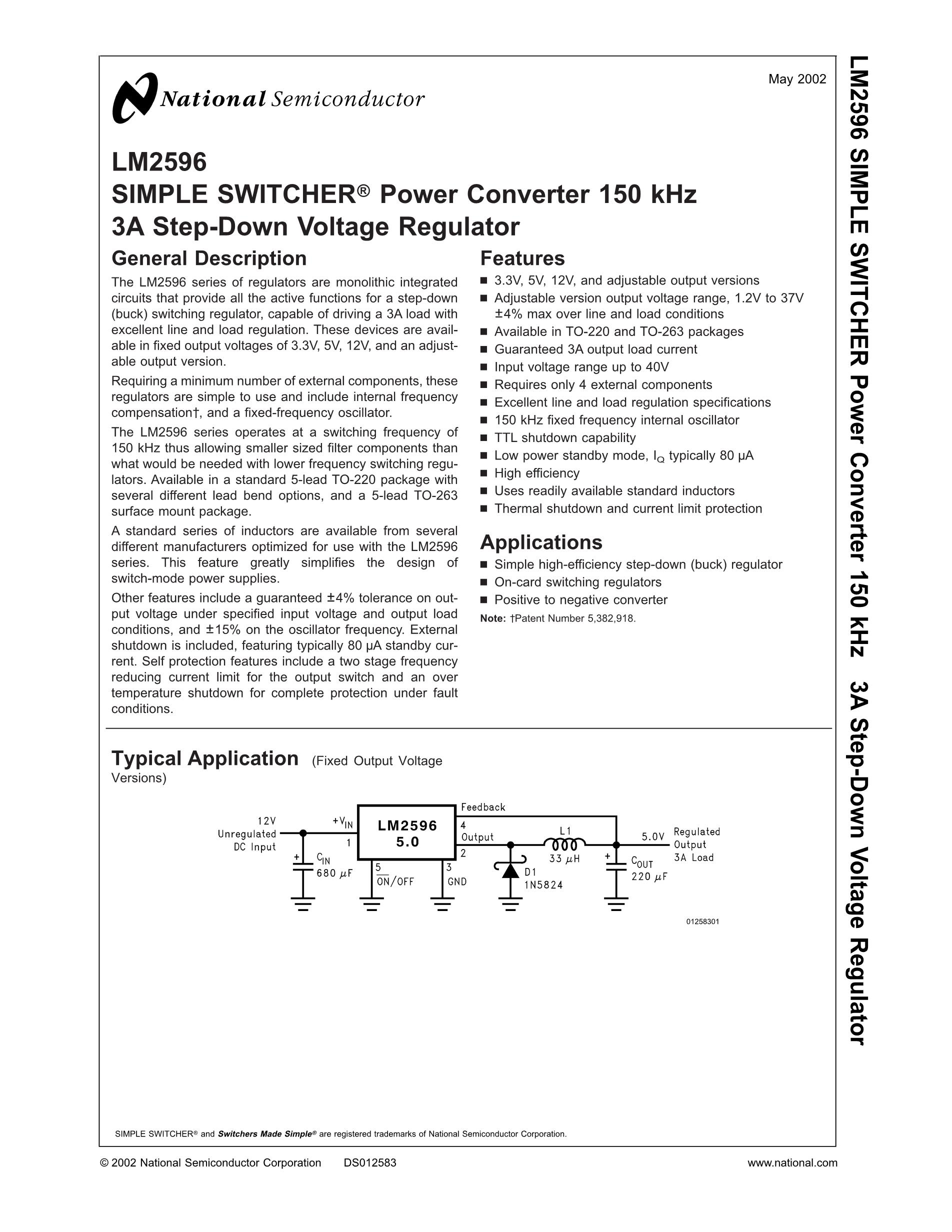 LM2596T-12's pdf picture 1