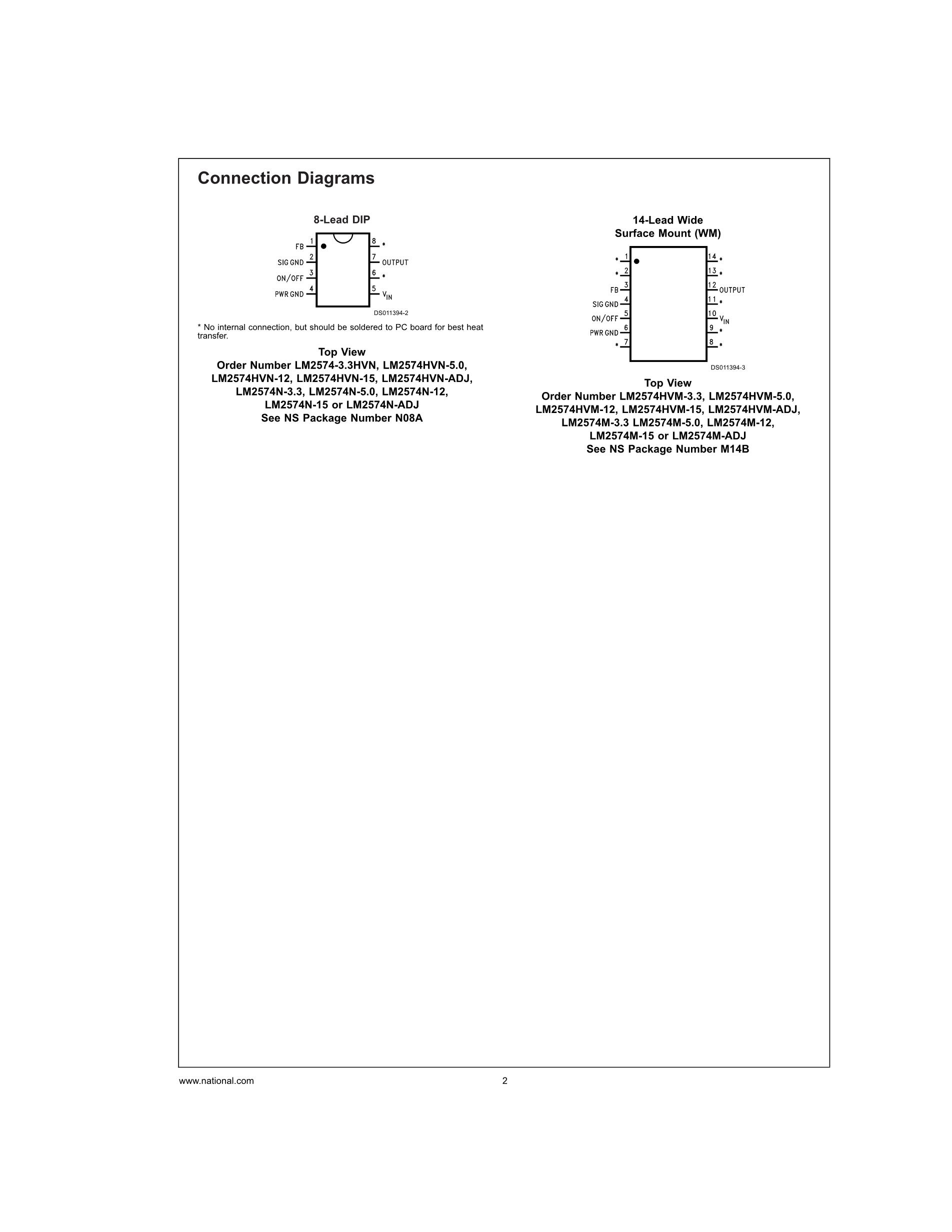 LM25005MHX/NOPB's pdf picture 2