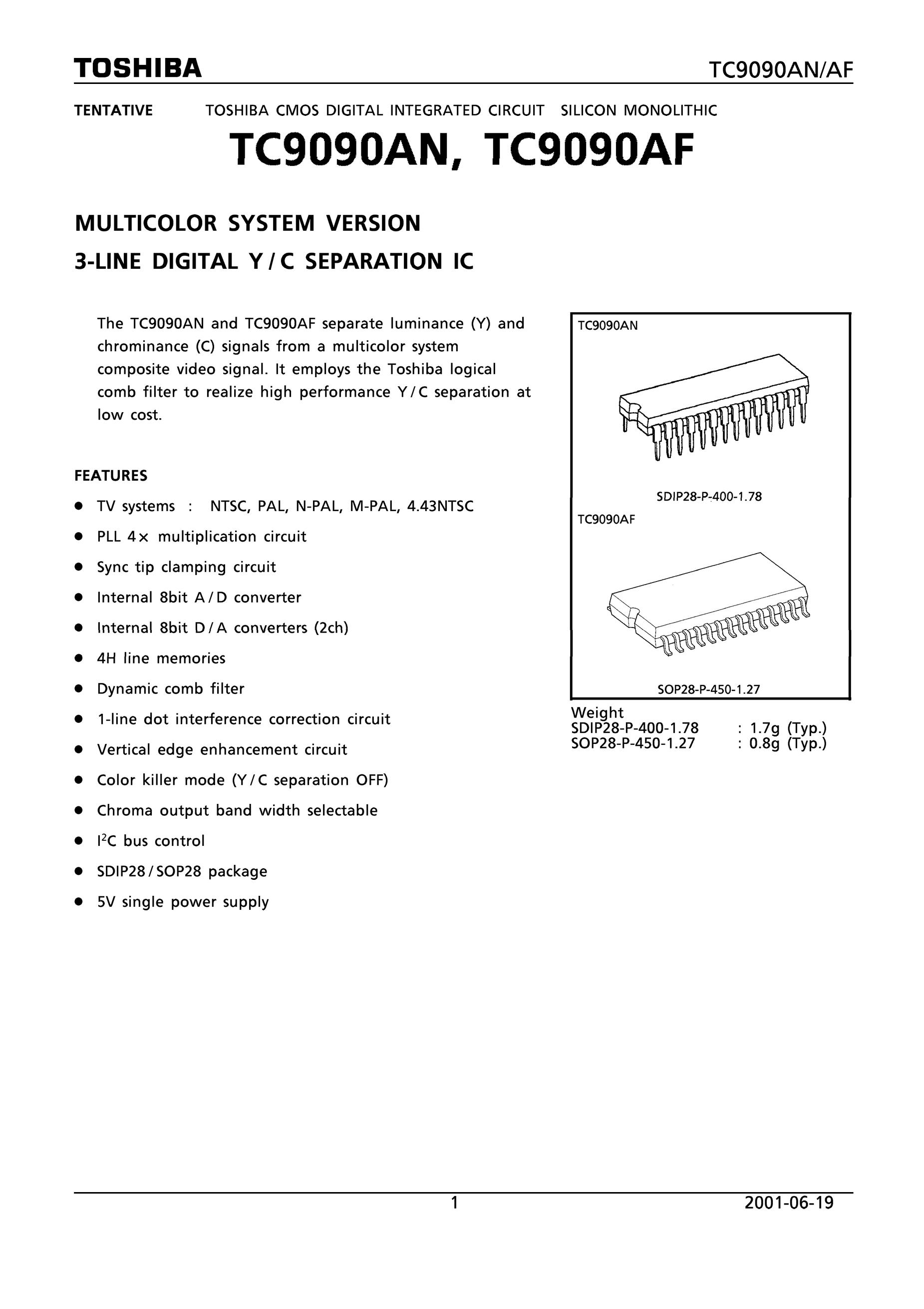 TC90A73FG's pdf picture 1