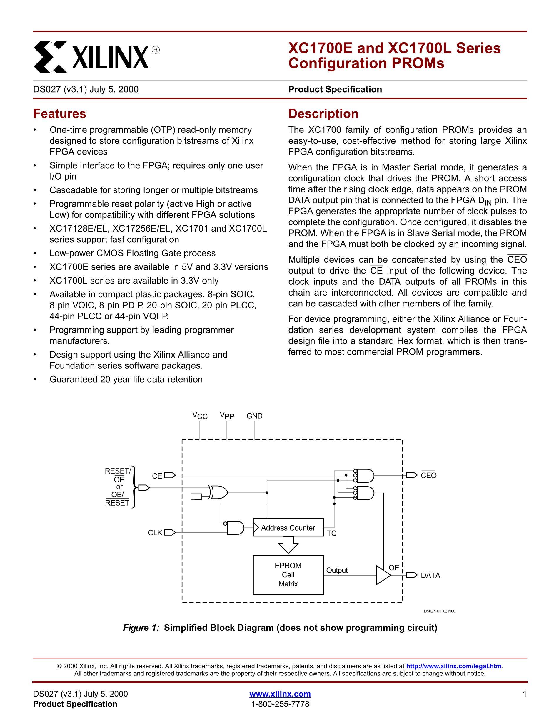 XC1718LSC's pdf picture 1