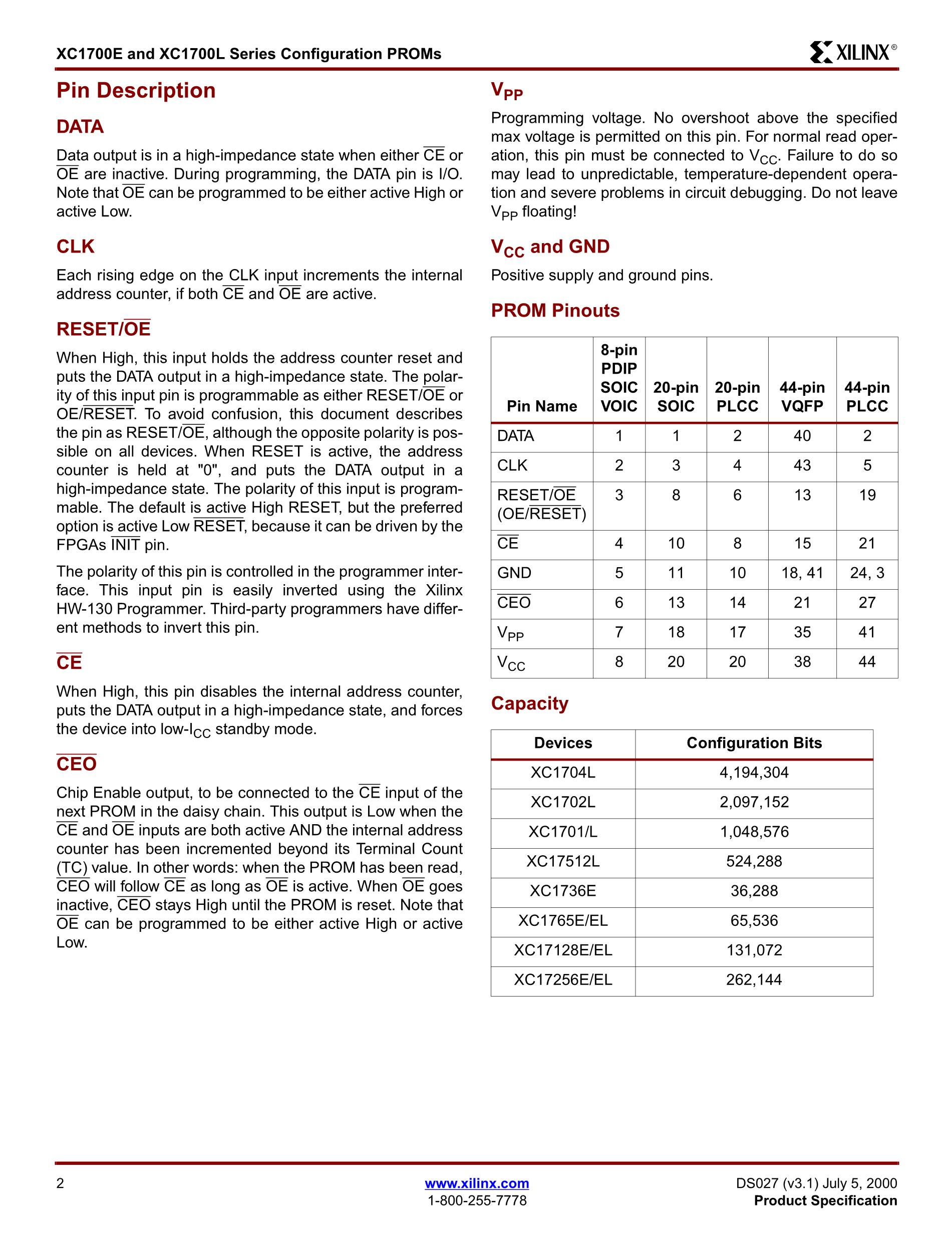 XC1718LSC's pdf picture 2