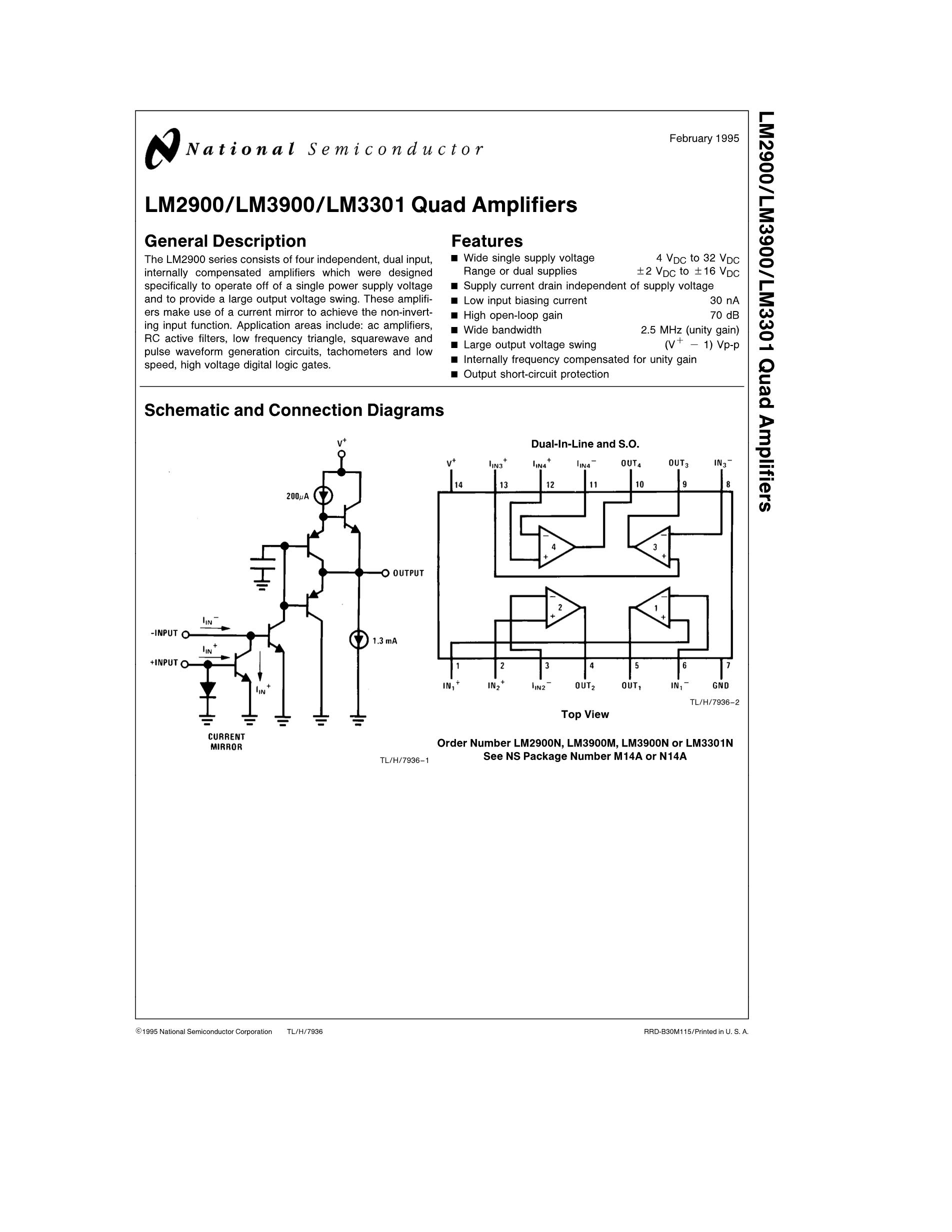 LM331N/NOPB's pdf picture 1