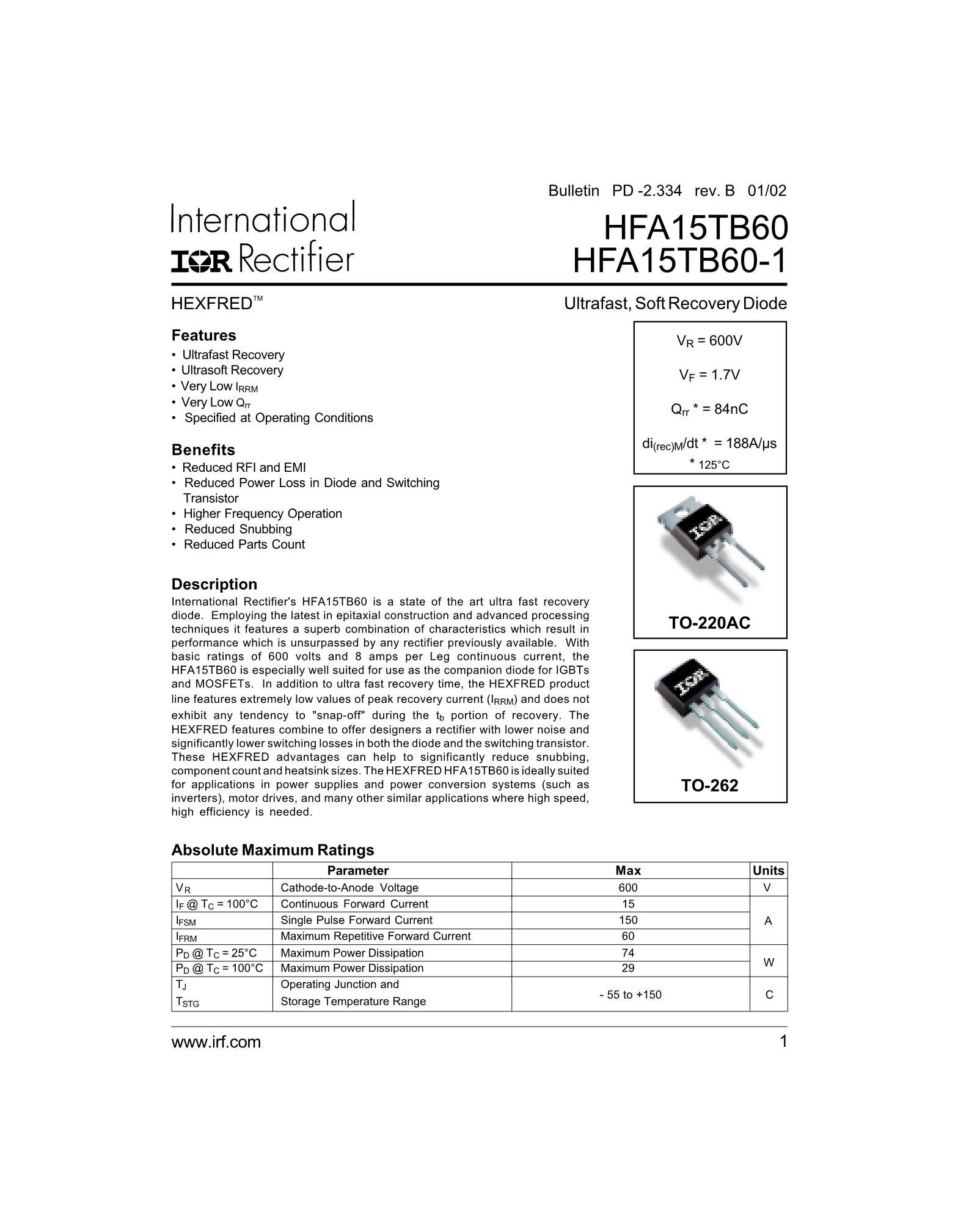 HFA120MD40C's pdf picture 1