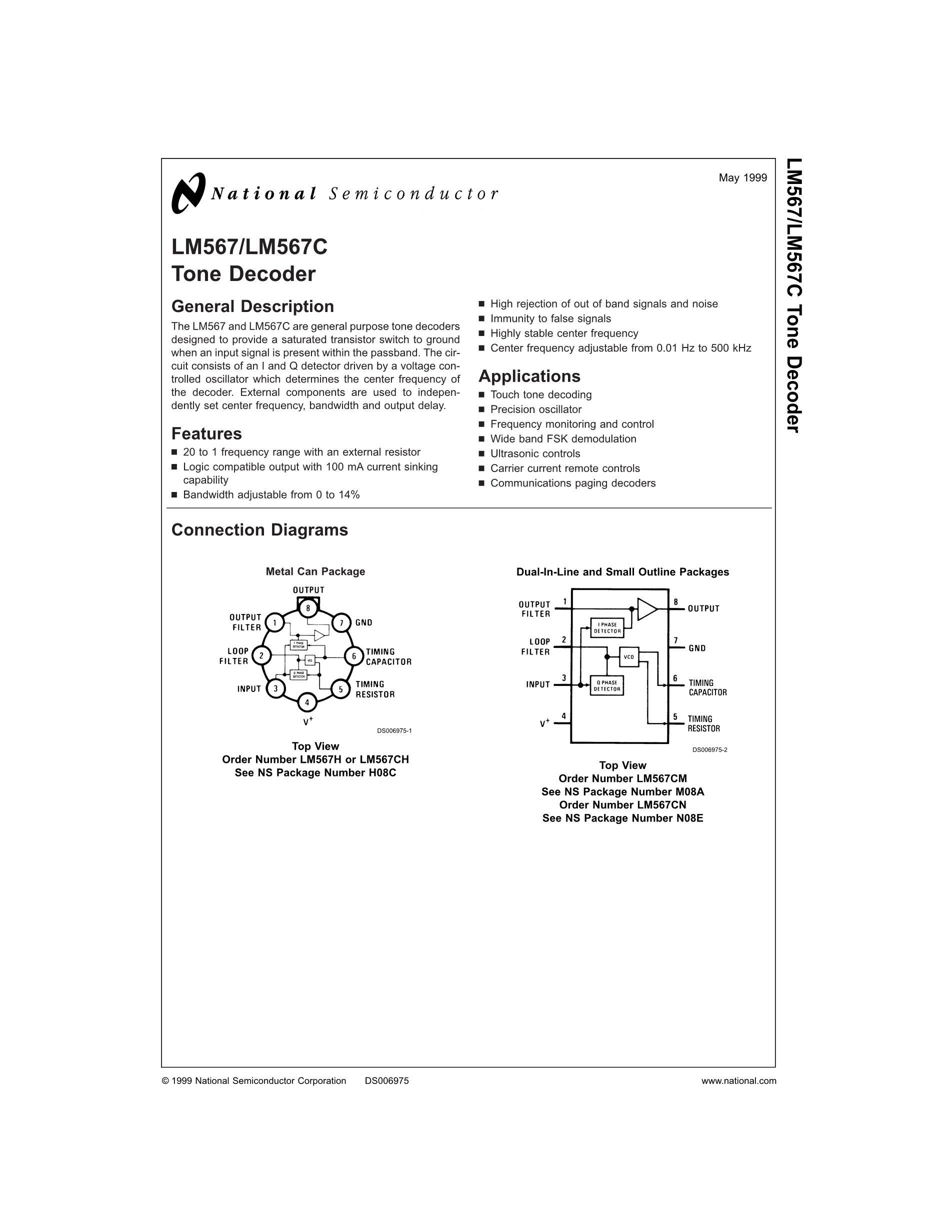 LM5642XMTX/NOPB's pdf picture 1