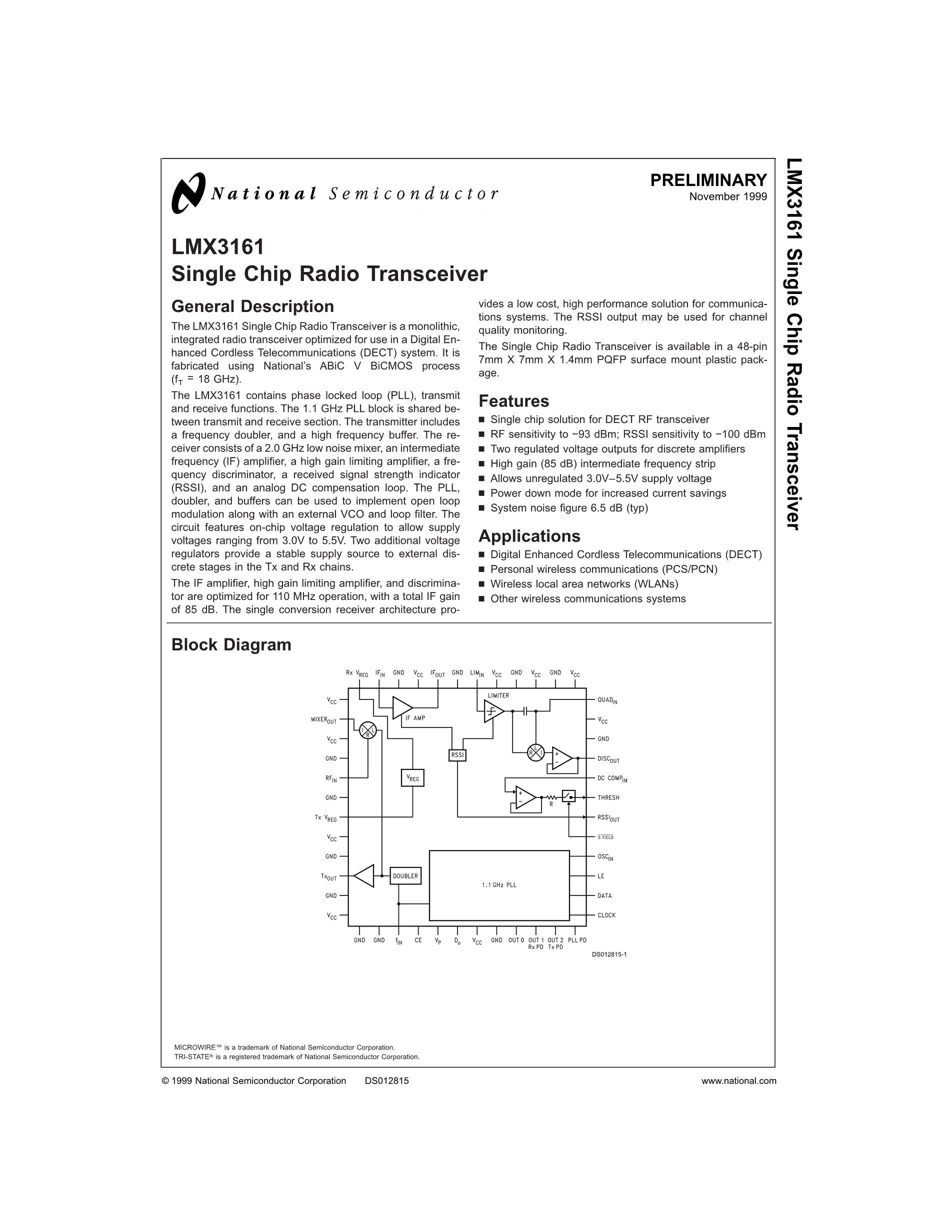 LMX3403SLCX's pdf picture 1