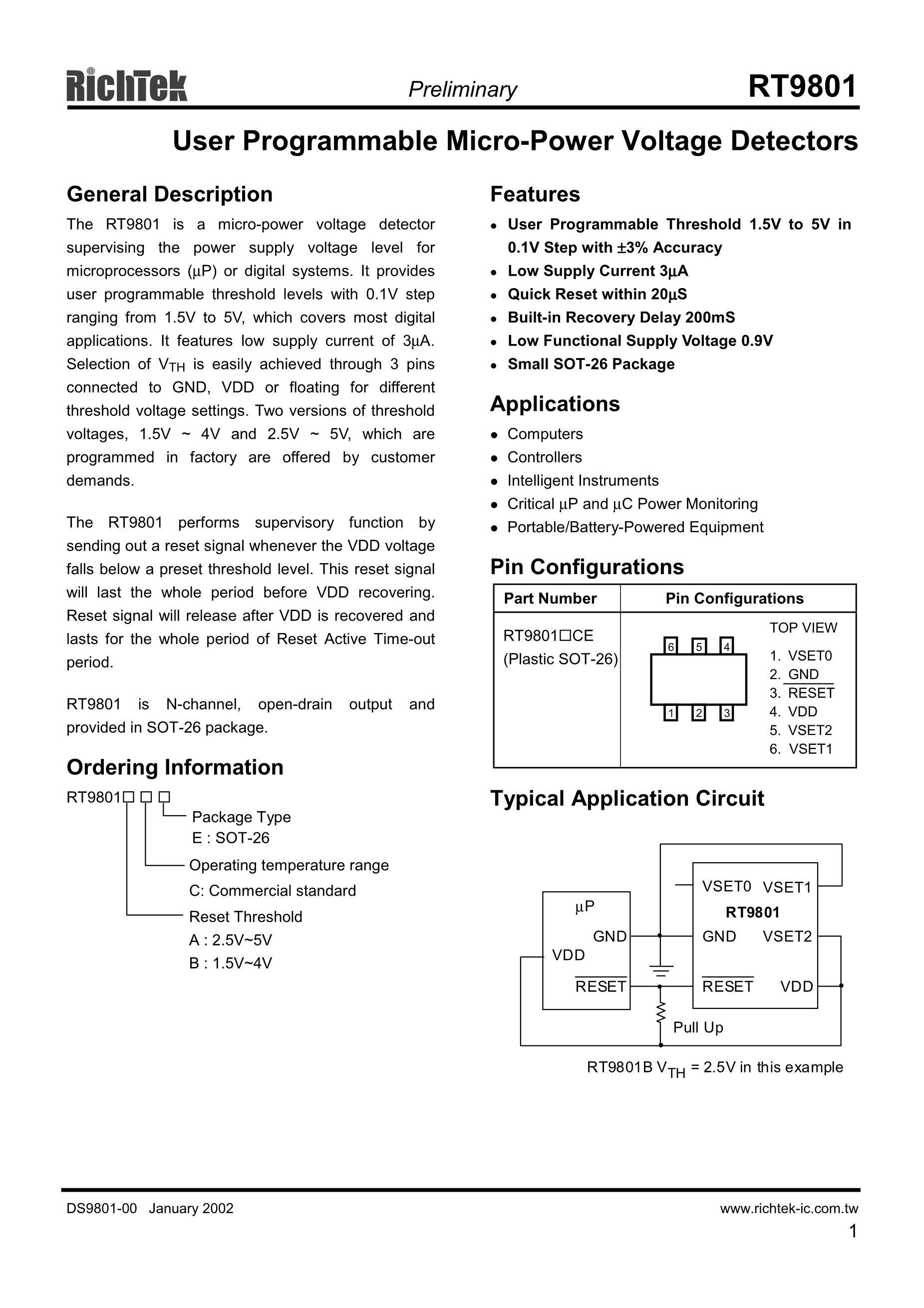 RT9818A-20GV's pdf picture 1