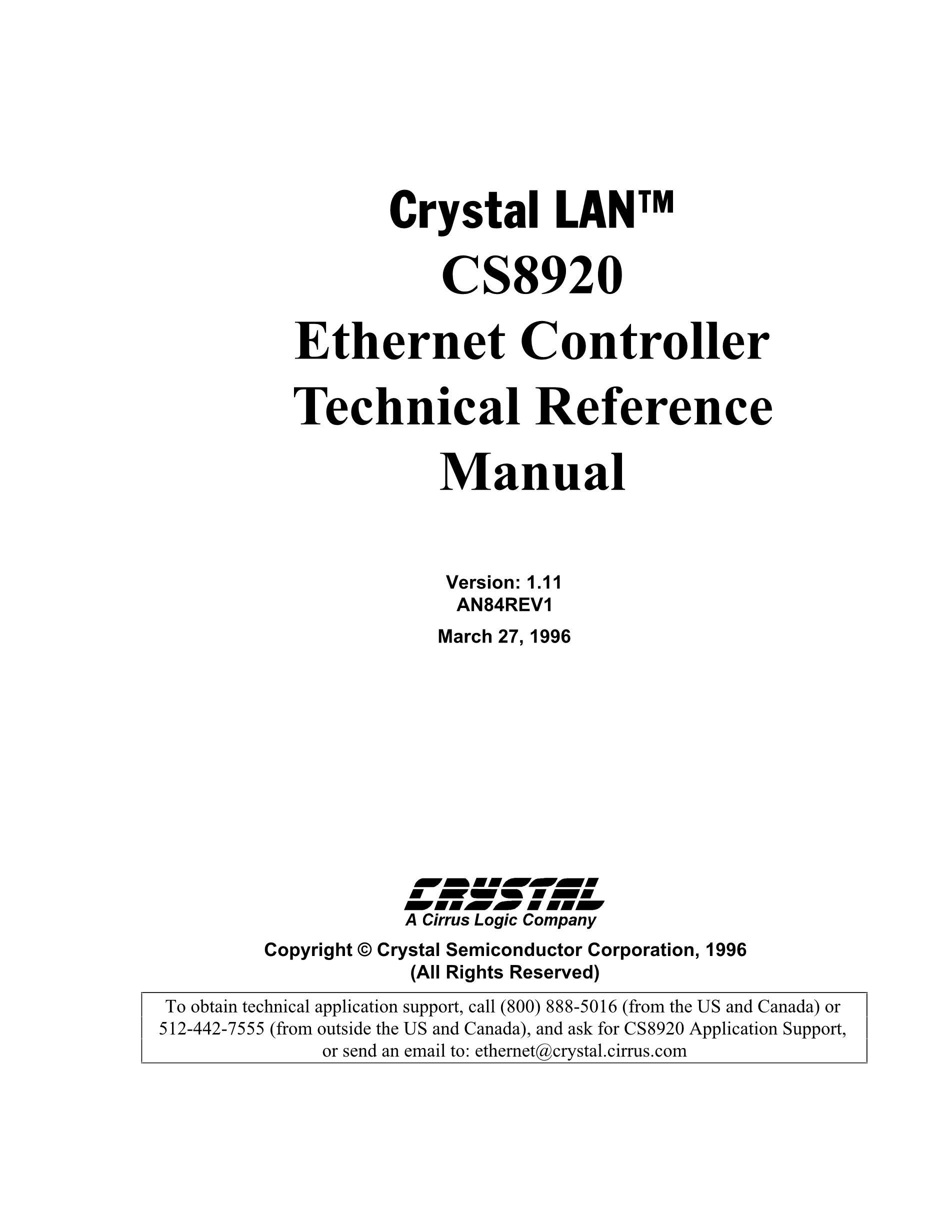 CS8900A-CQZR's pdf picture 1