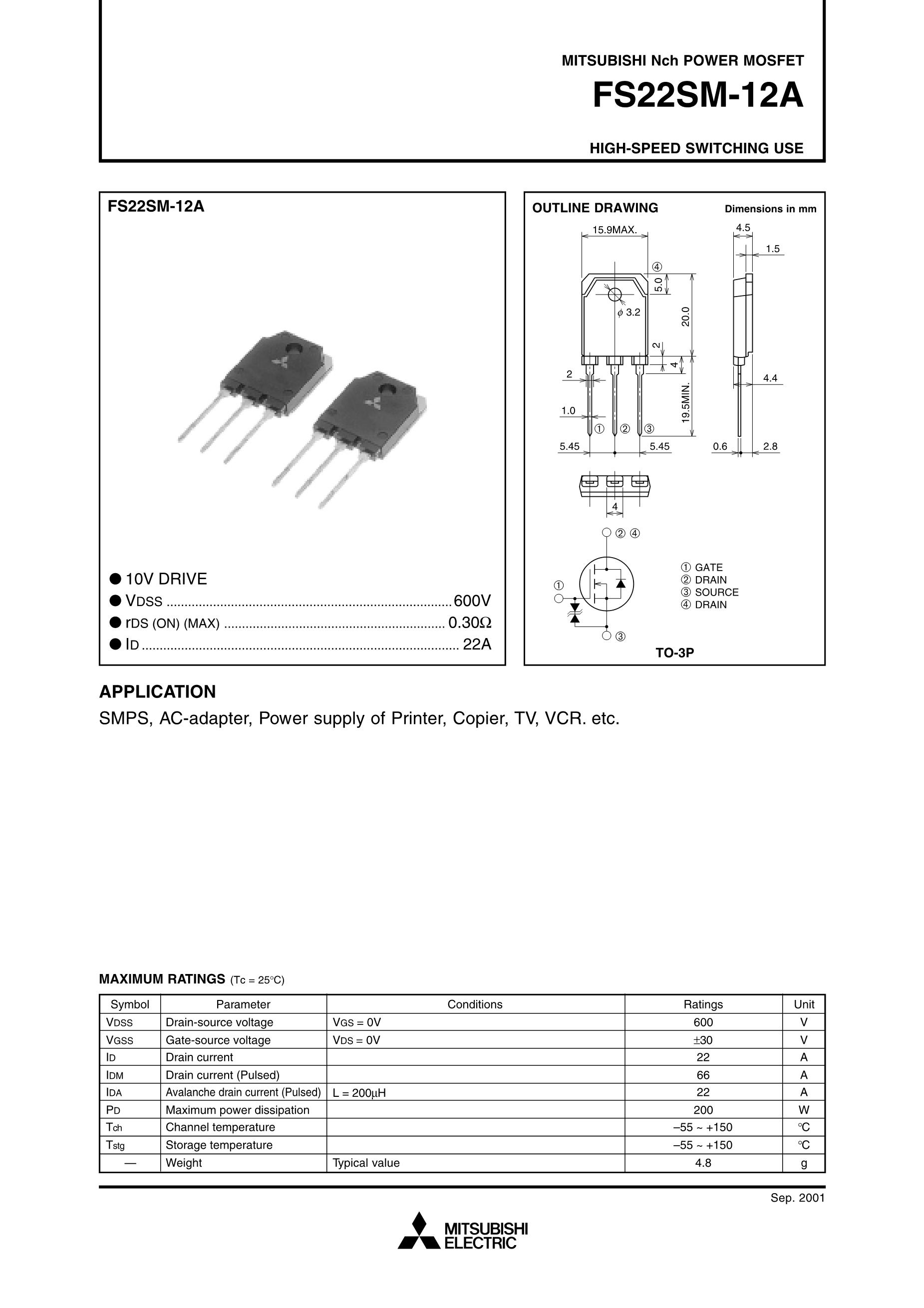 FS225R12KE3/225A1200V's pdf picture 1