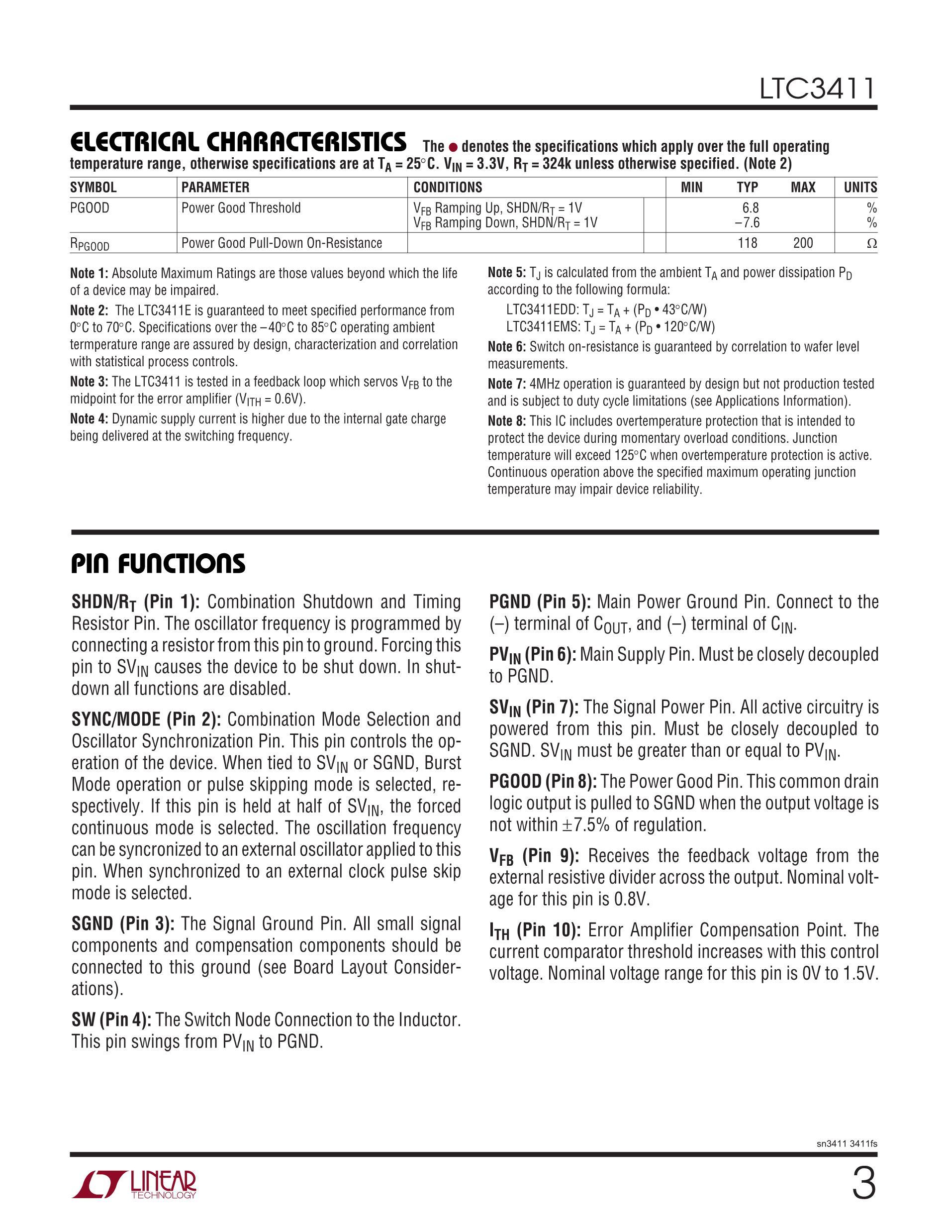 LTC3541EDD-1#PBF's pdf picture 3