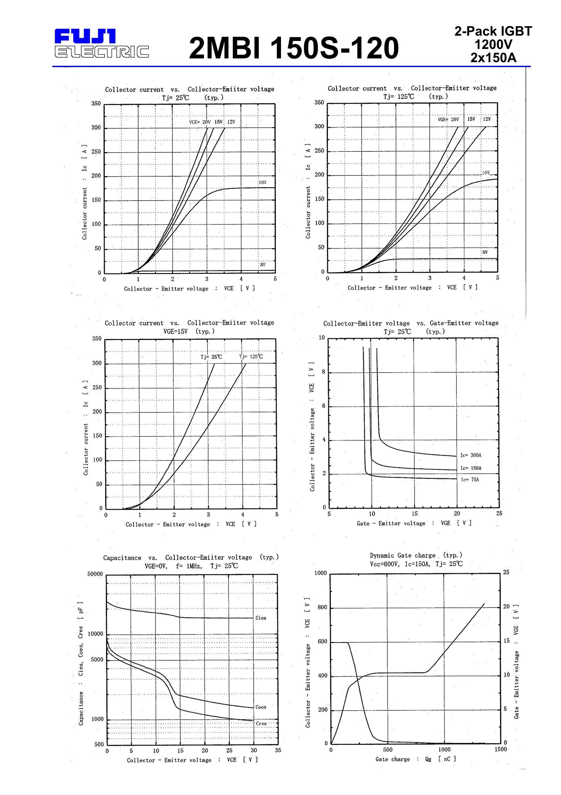 2MBI150S-120's pdf picture 2
