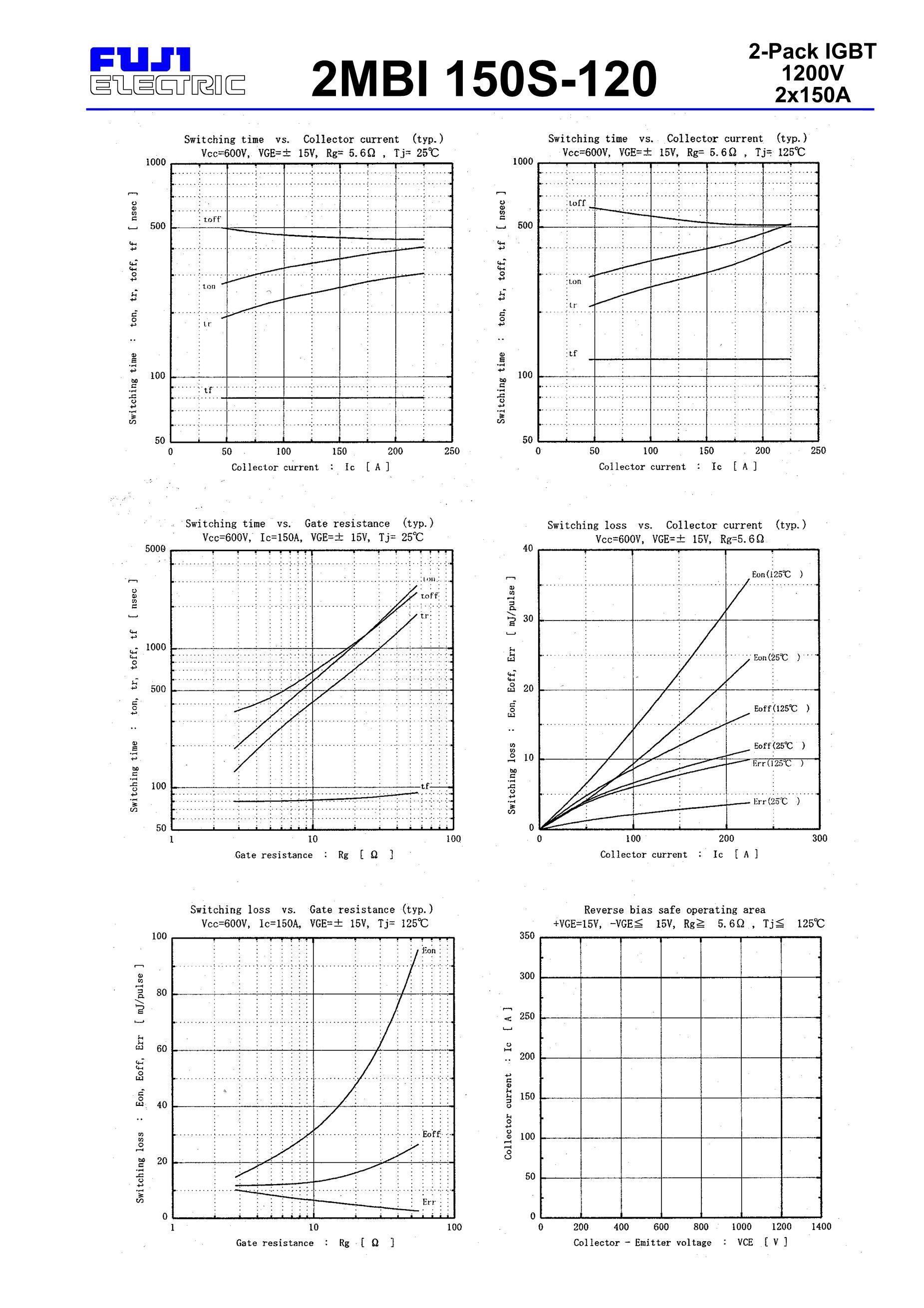 2MBI150S-120's pdf picture 3