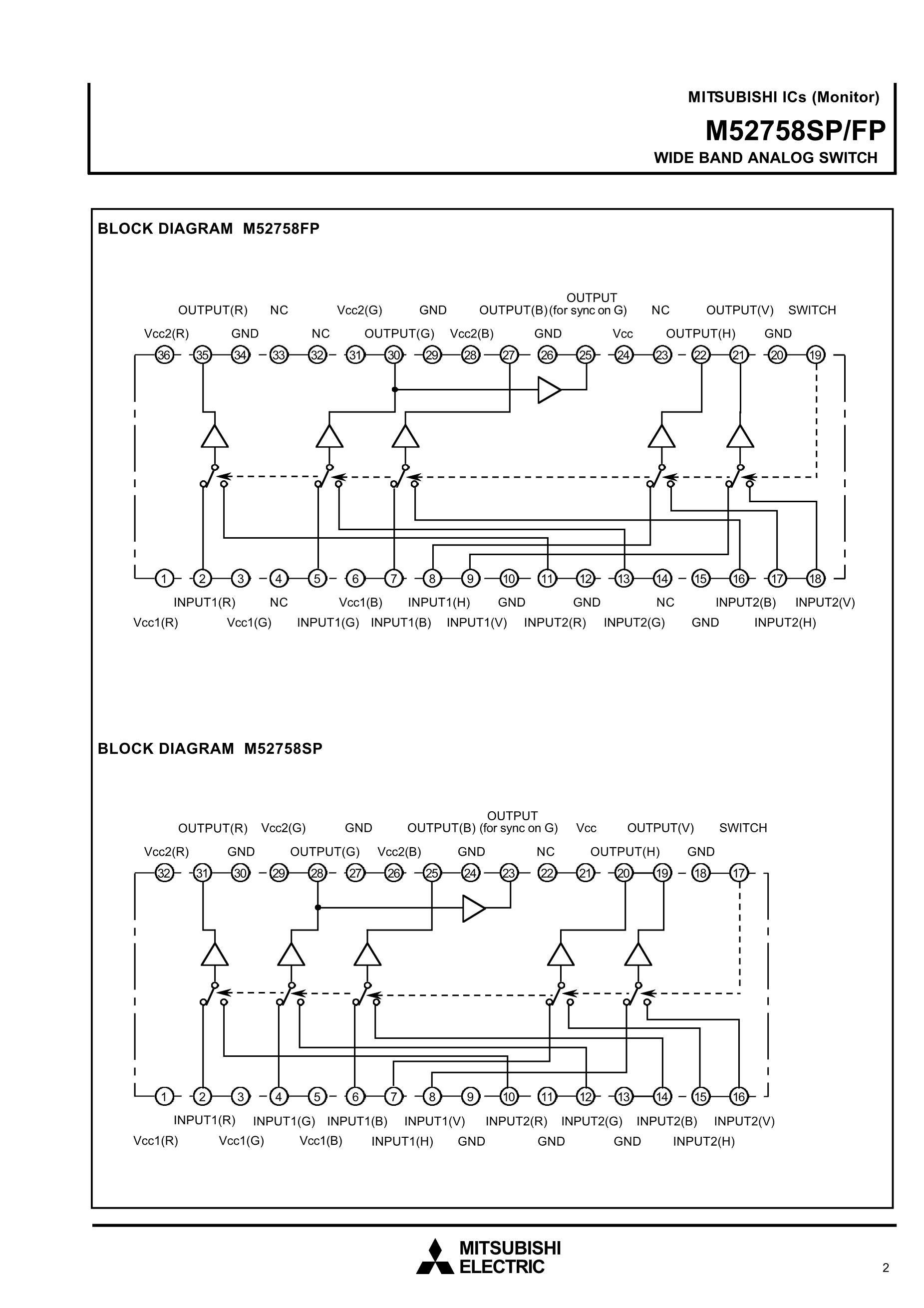 M52757FP's pdf picture 2