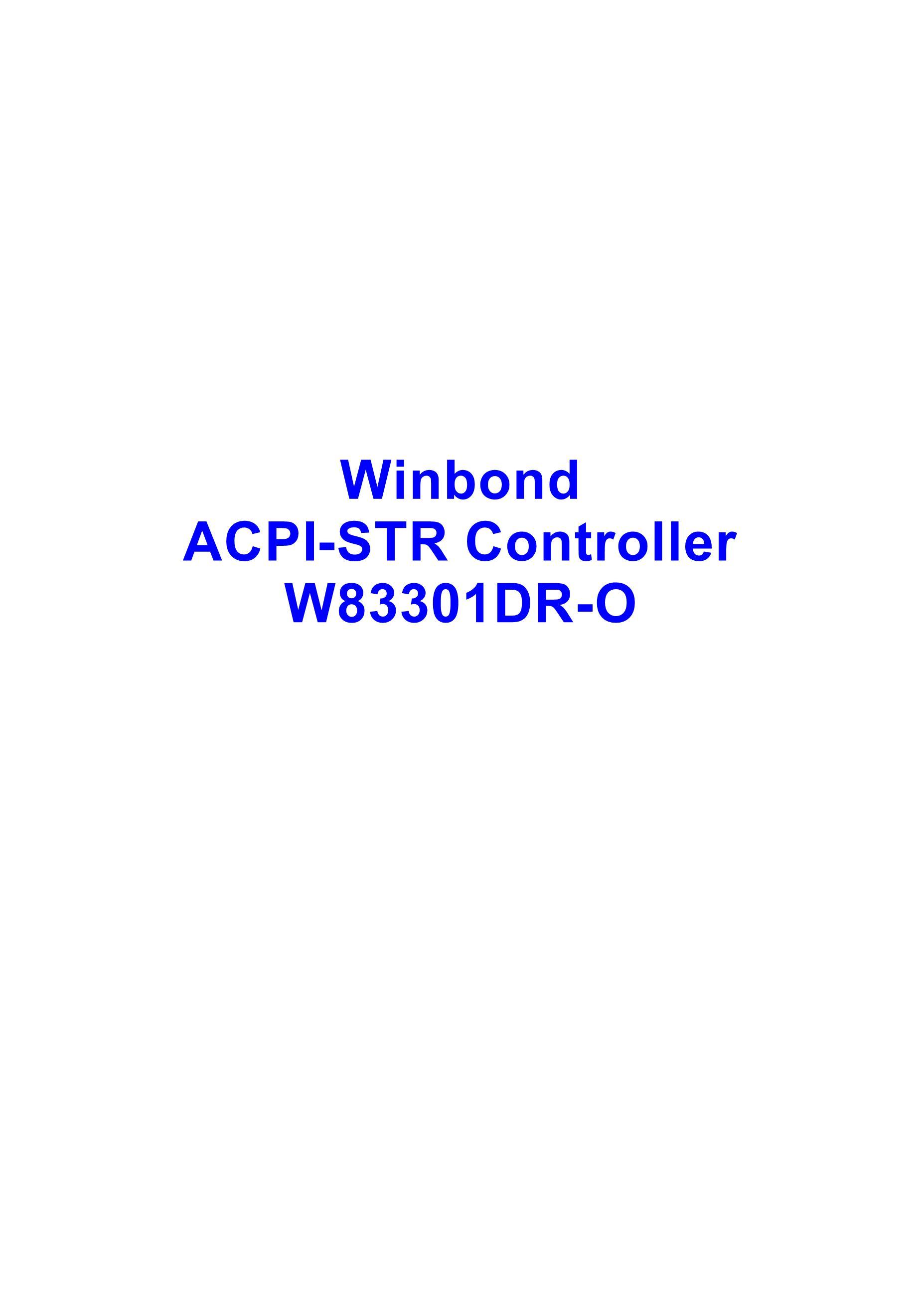 W83310DG's pdf picture 1