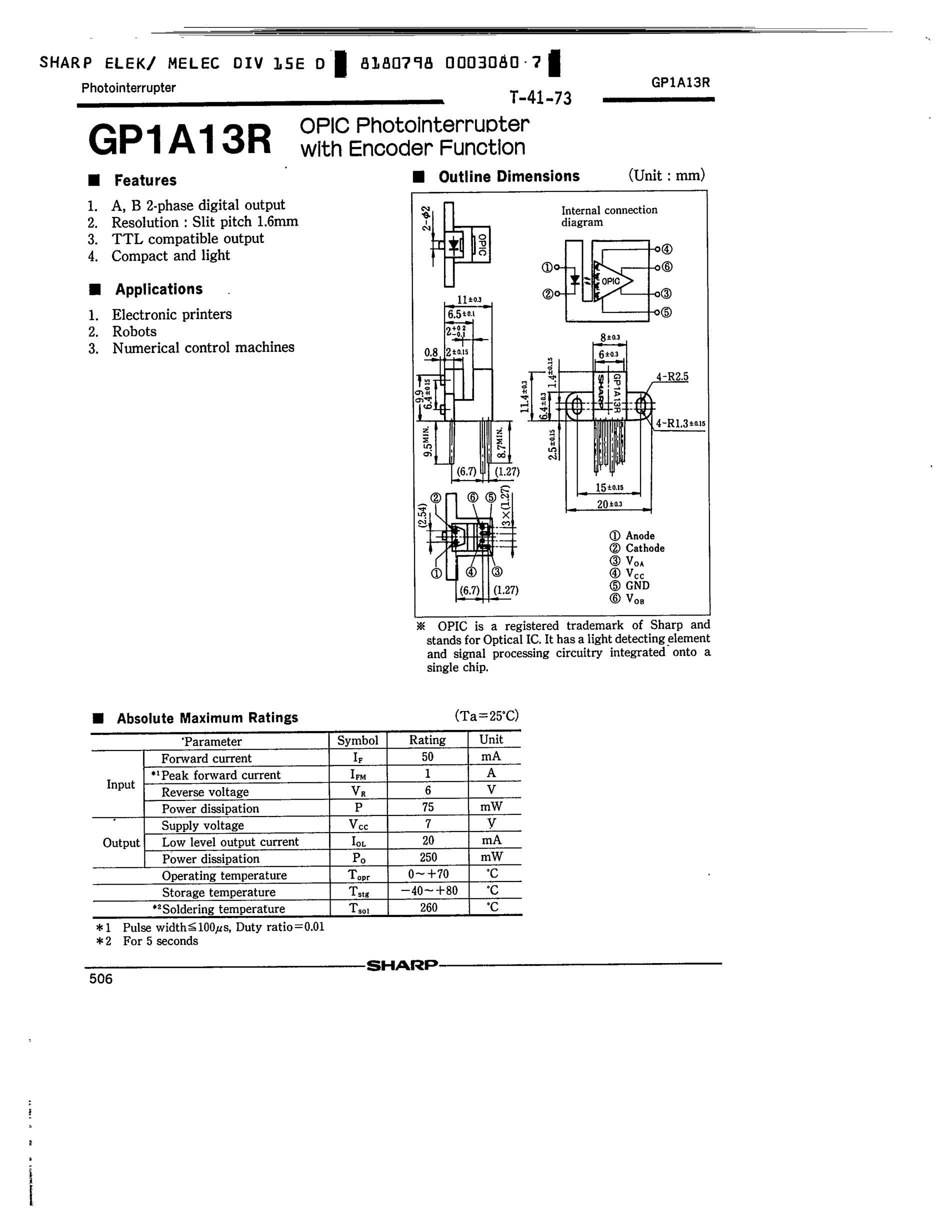 GP-1012SC's pdf picture 1