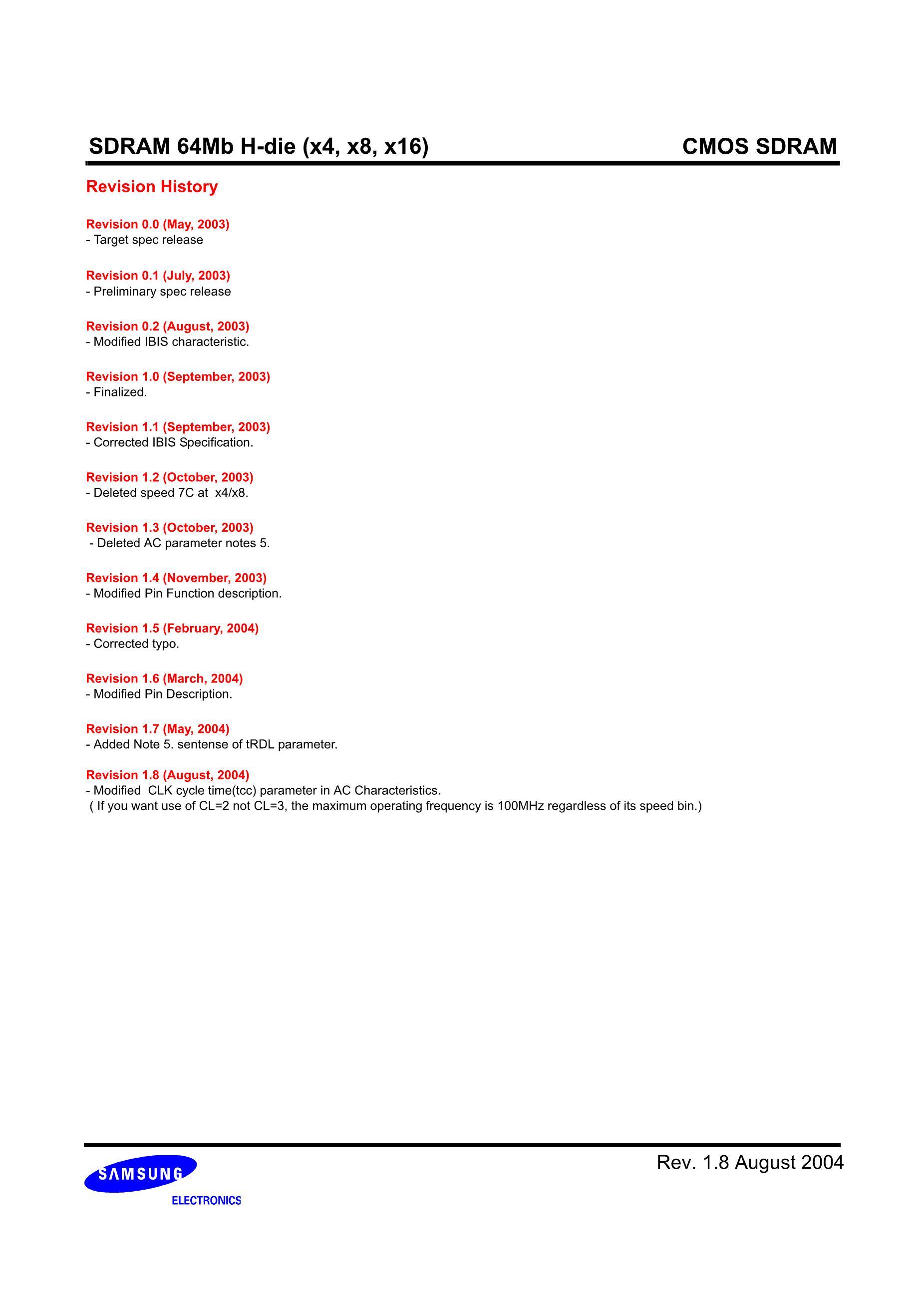 K4S641632C-TC75's pdf picture 2