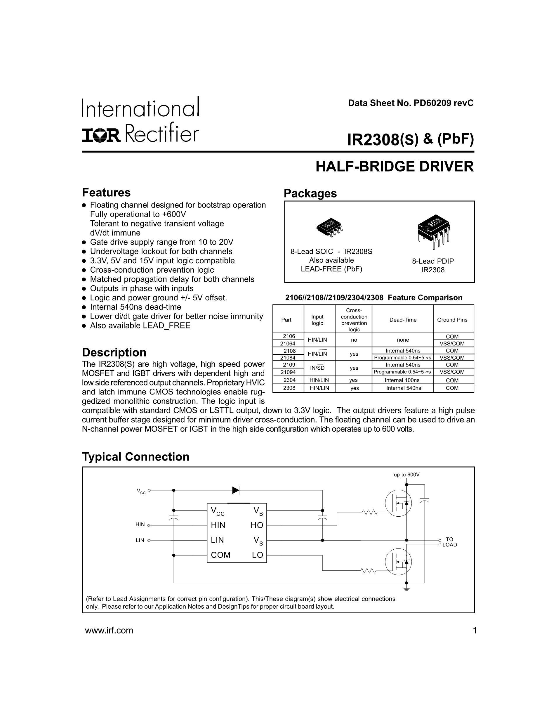 IR2308S's pdf picture 1