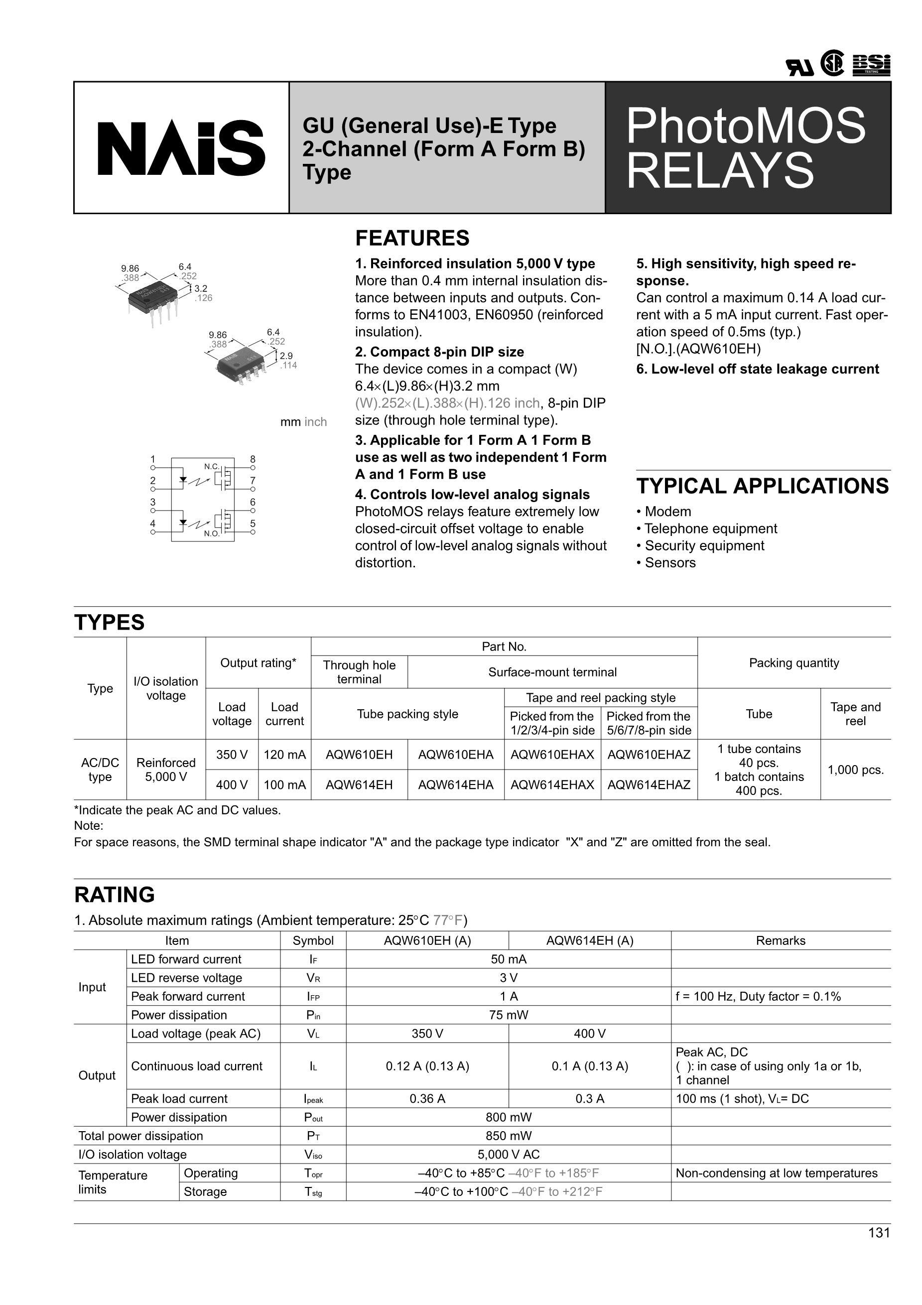 AQW614's pdf picture 1