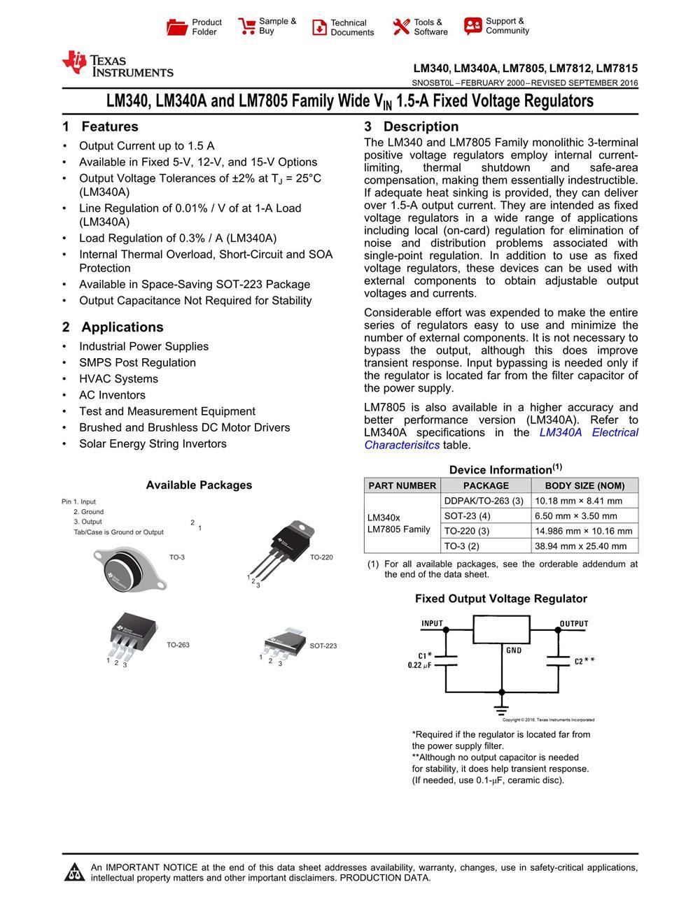 LM340MP-5.0 's pdf picture 1
