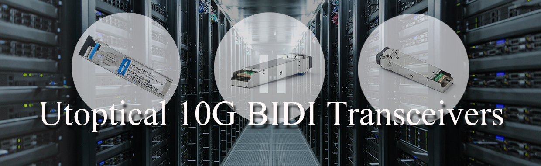 10G BIDI SFP+ Transceiver Modules