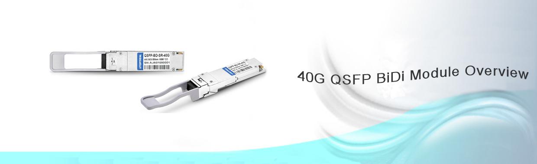 40G QSFP BiDi Module Overview