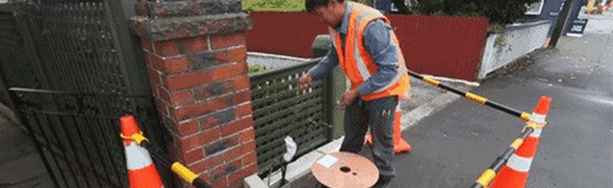FTTH installation(New Zealand Version)