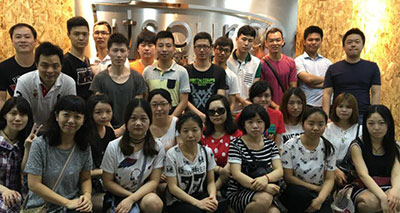 Utsource technical department, Wuhan, China