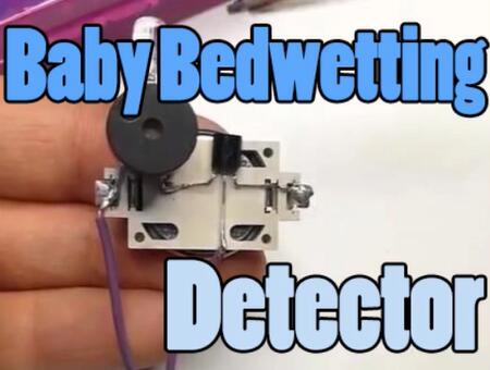 Baby Bedwetting Detector