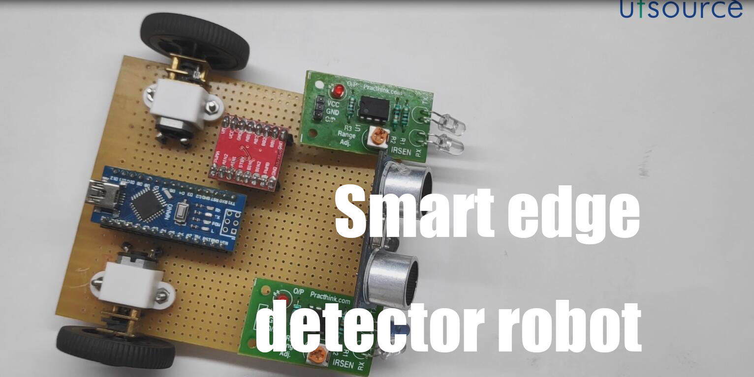 How to make a smart edge detector robot?
