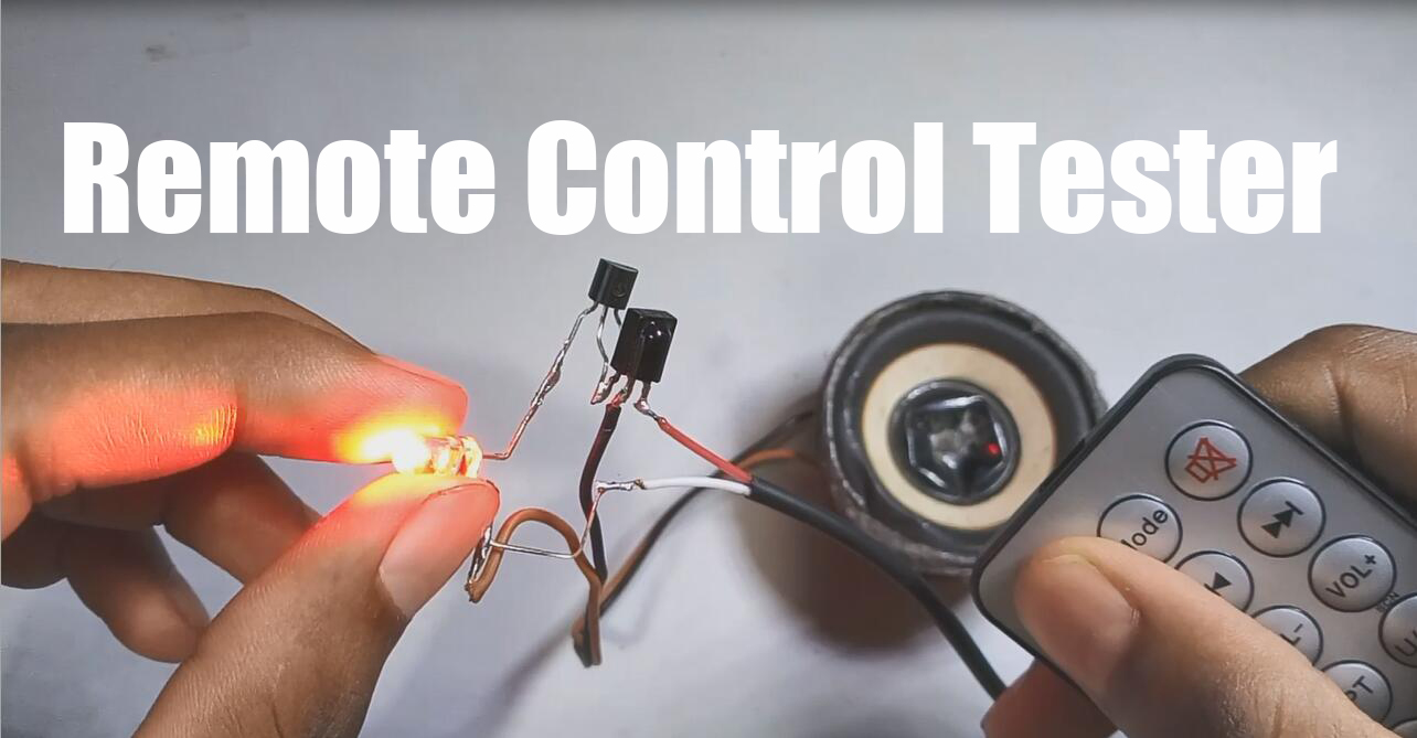 Remote Tester - How to make a Remote Control Tester