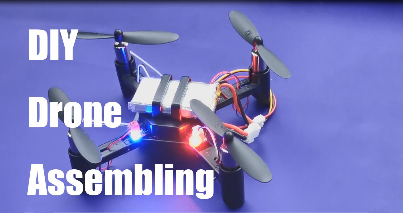 Drone assembling DIY, 6-axis gyro
