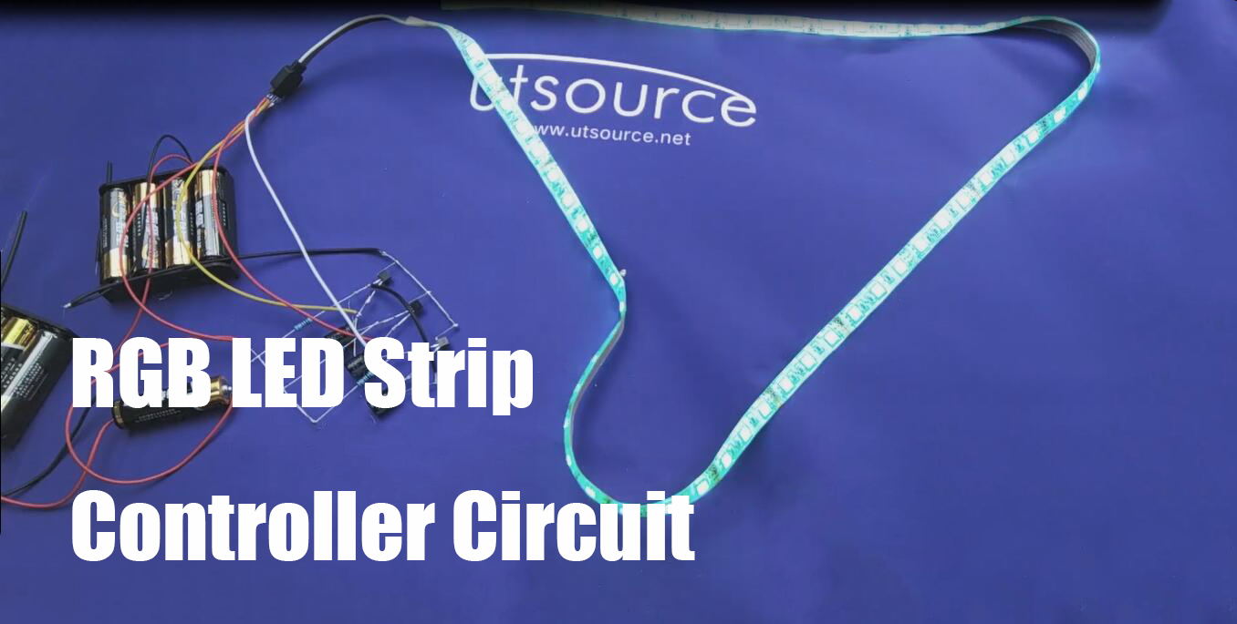 RGB LED Strip Controller Circuit
