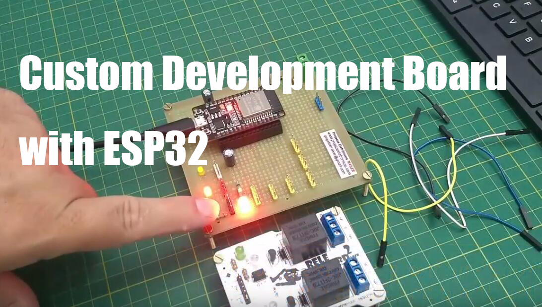 Custom Development Board with ESP32