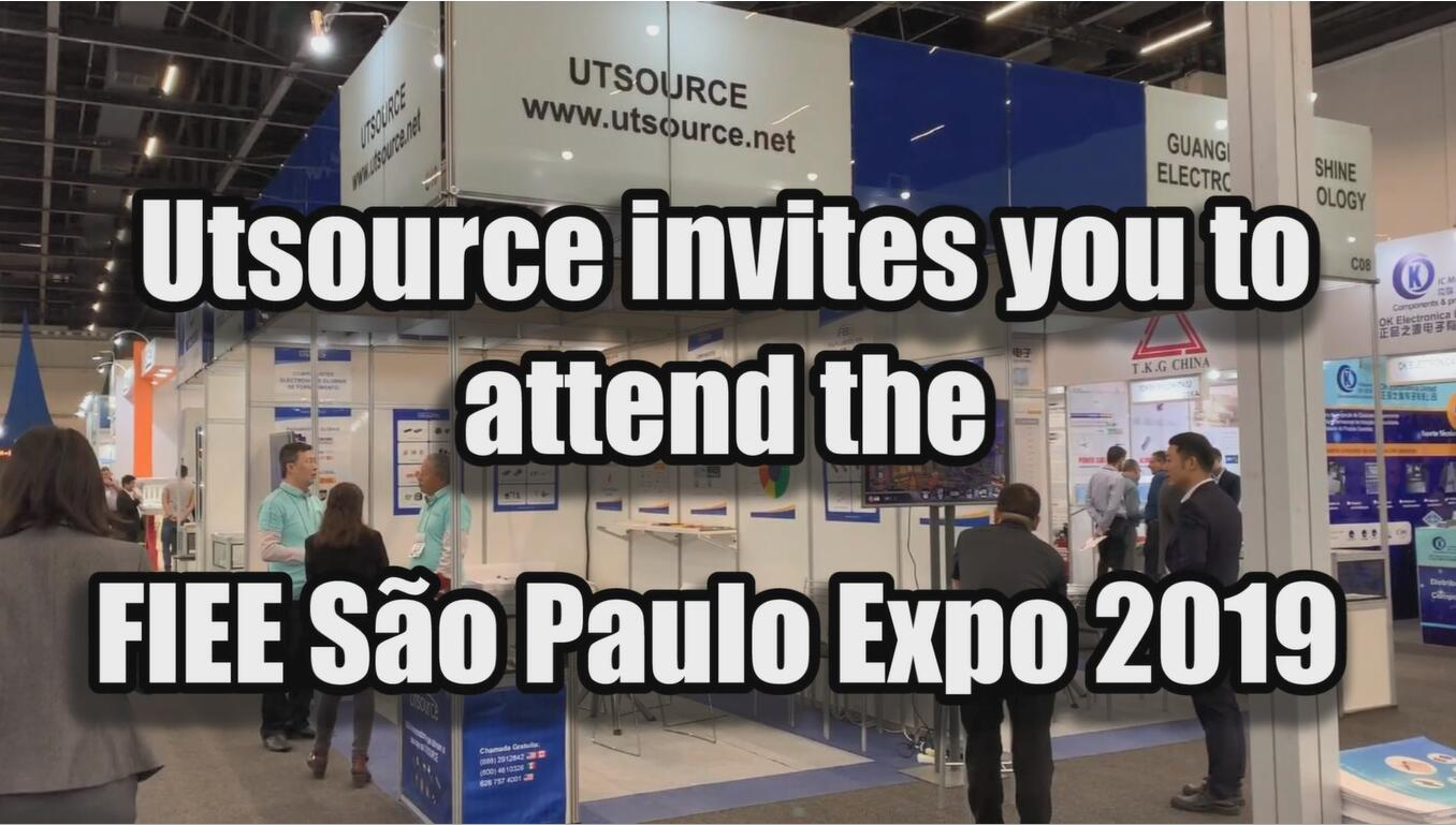 Utsource invites you to attend the FIEE Sao Paulo Expo 2019