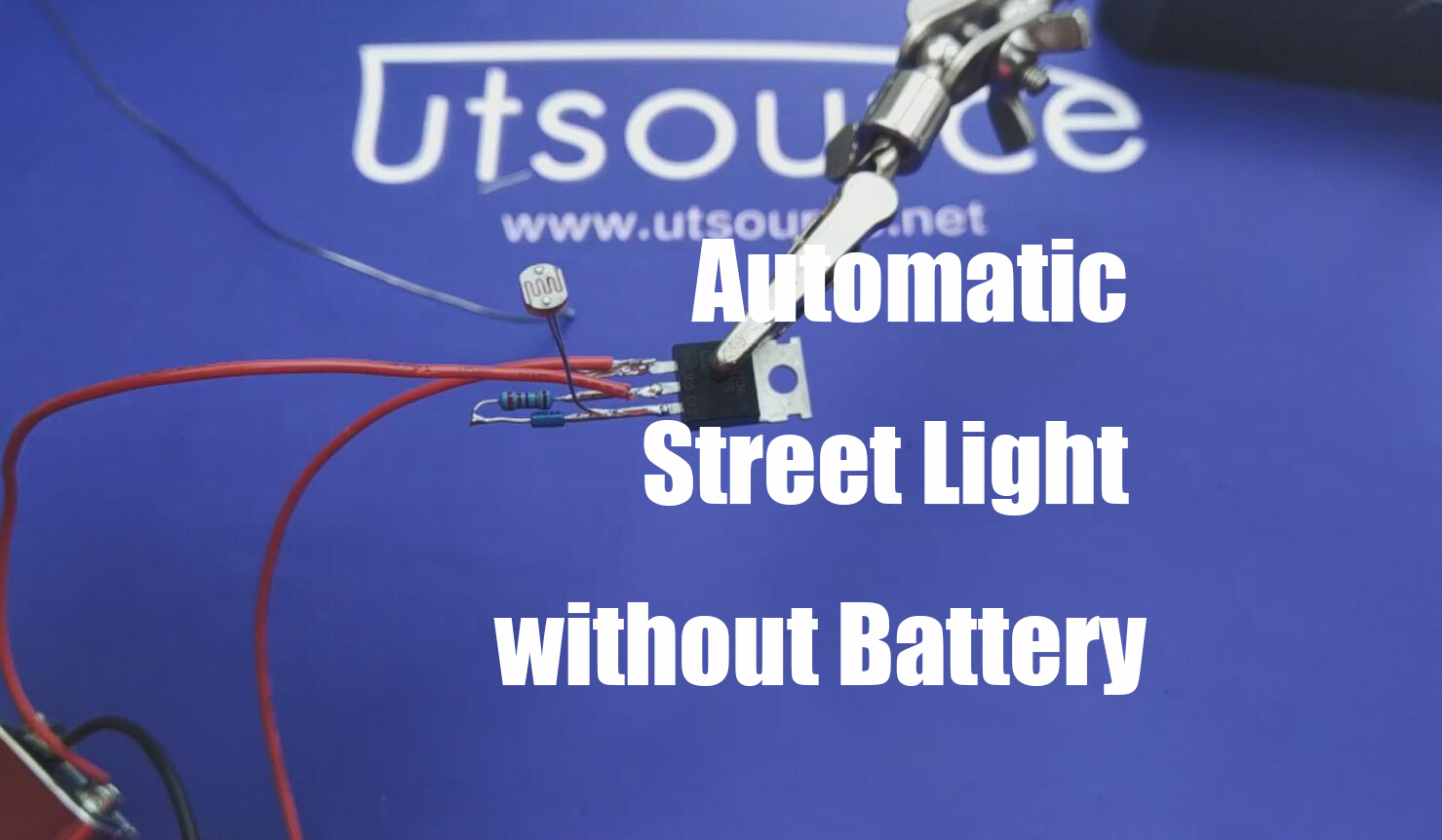 Automatic street light without battery